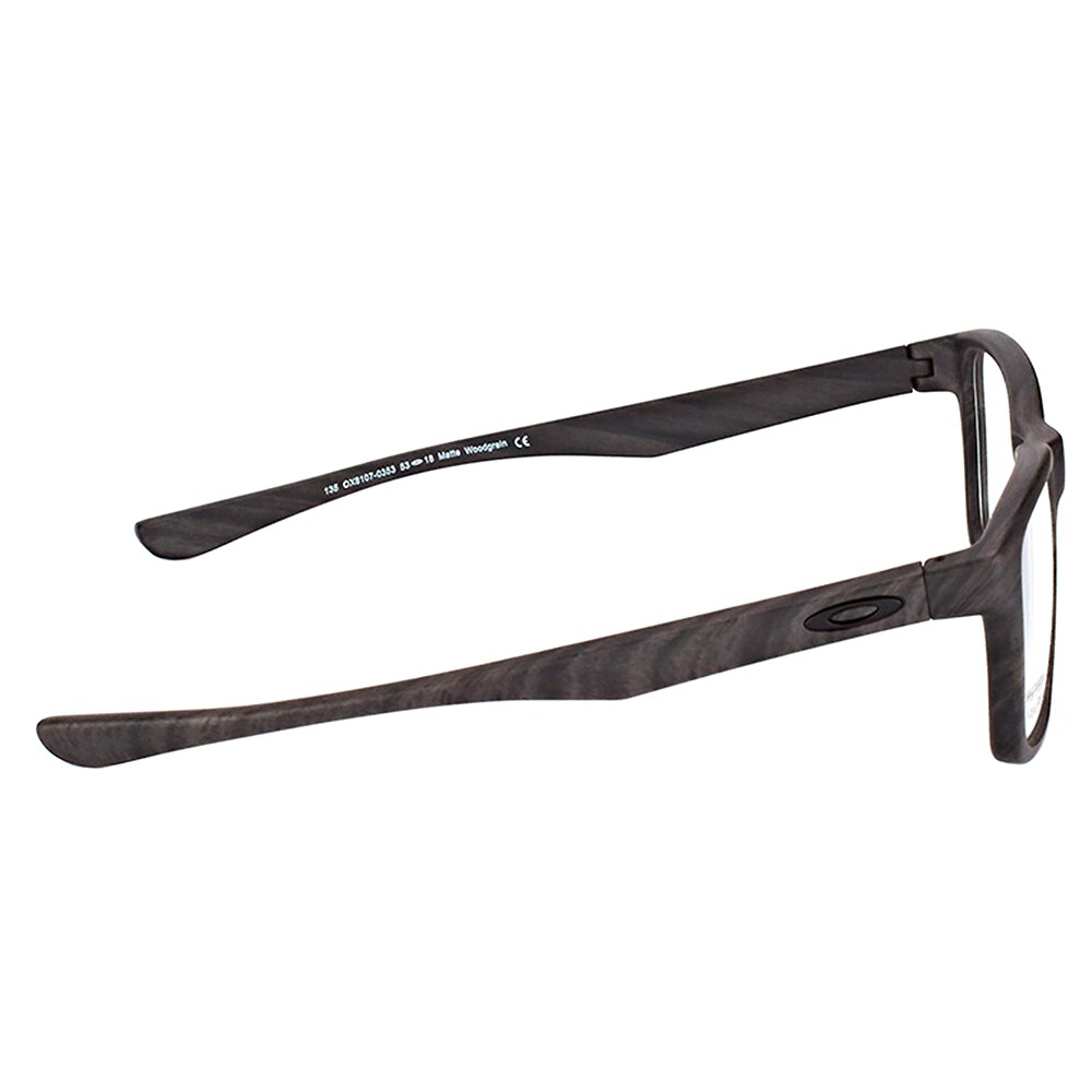 7cf27cd0c38a7 Shop Oakley OX 8107 03 Trim Plane (TRUBRIDGE™) Matte Woodgrain Plastic  Square Eyeglasses 53mm - Ships To Canada - Overstock - 16742231