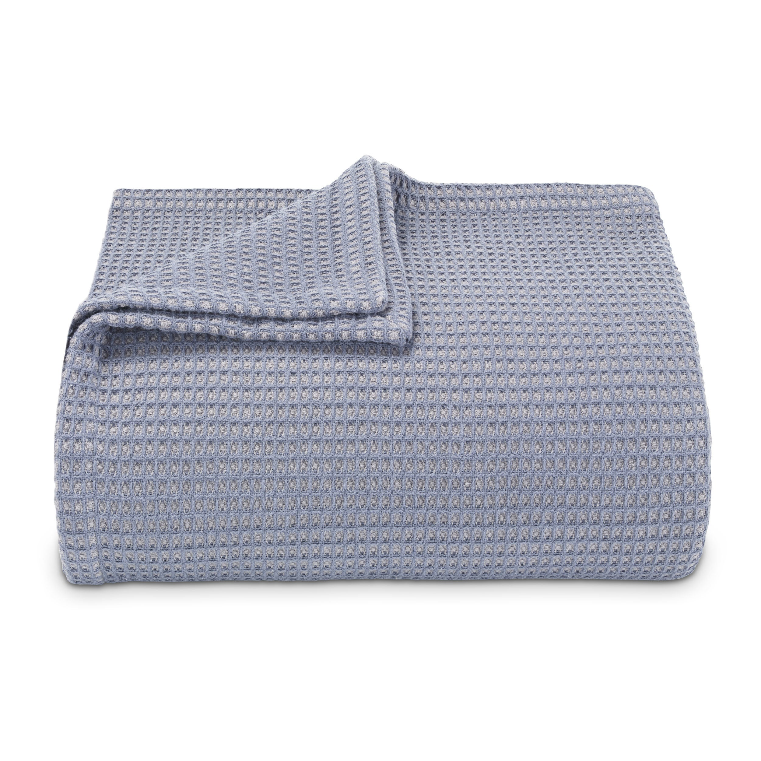b11d8460c0cc Shop Vera Wang Waffleweave Cotton Blanket - Free Shipping On Orders Over  $45 - Overstock - 16747249