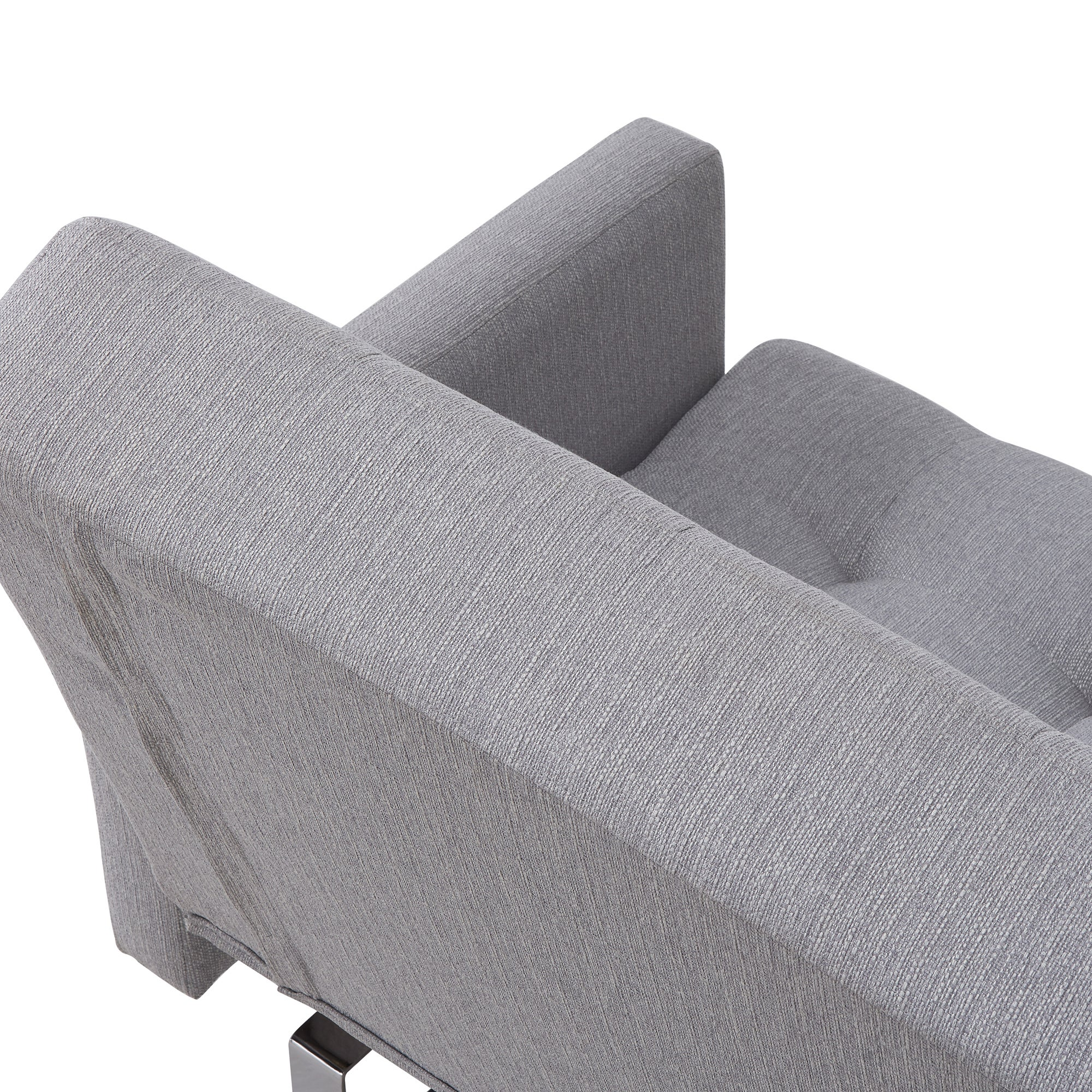 Shop Handy Living Springfield Dove Grey Linen Click Clack Futon Sofa Bed    On Sale   Free Shipping Today   Overstock.com   16747693