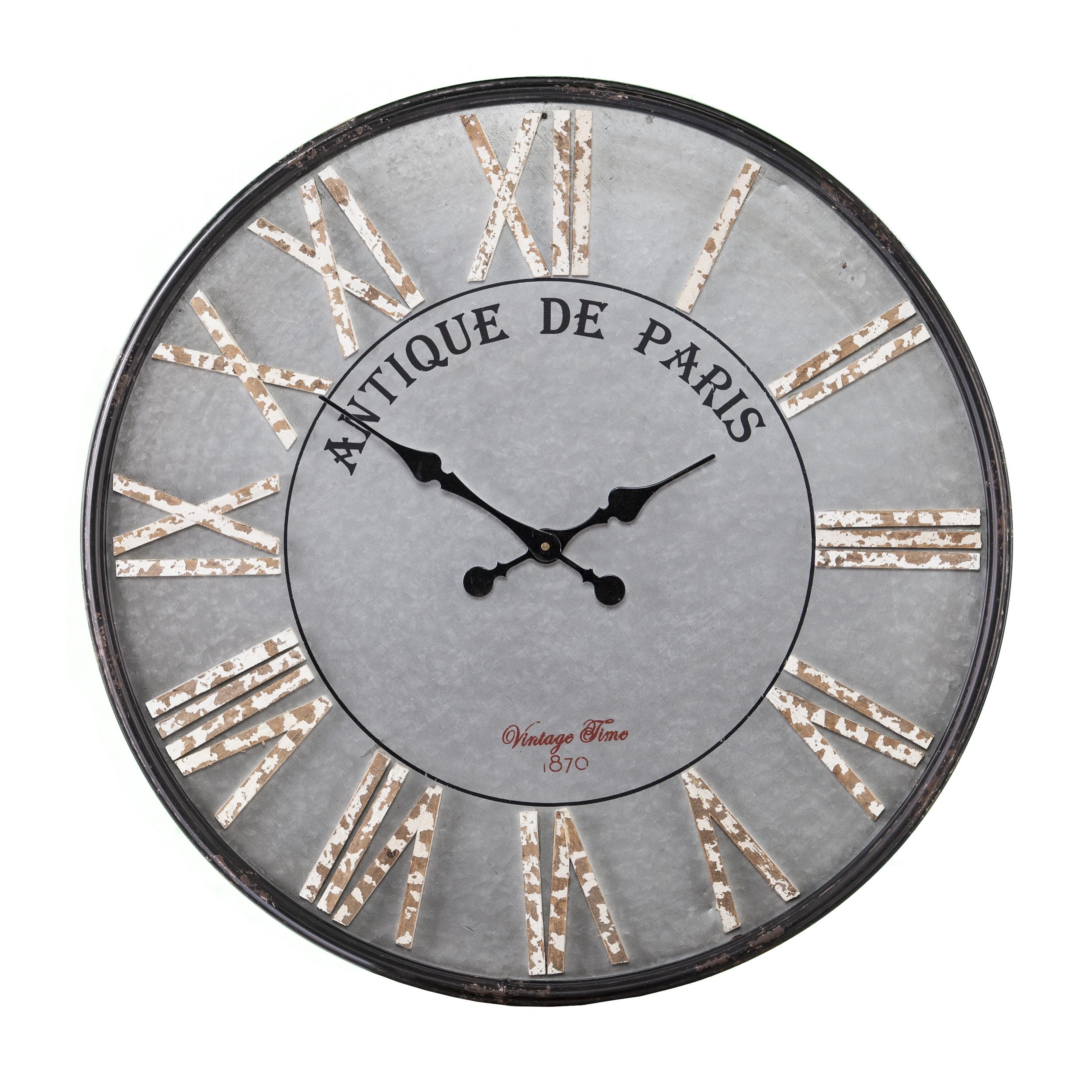 Shop The Gray Barn Jartop Round Rustic Farmhouse Wall Clock