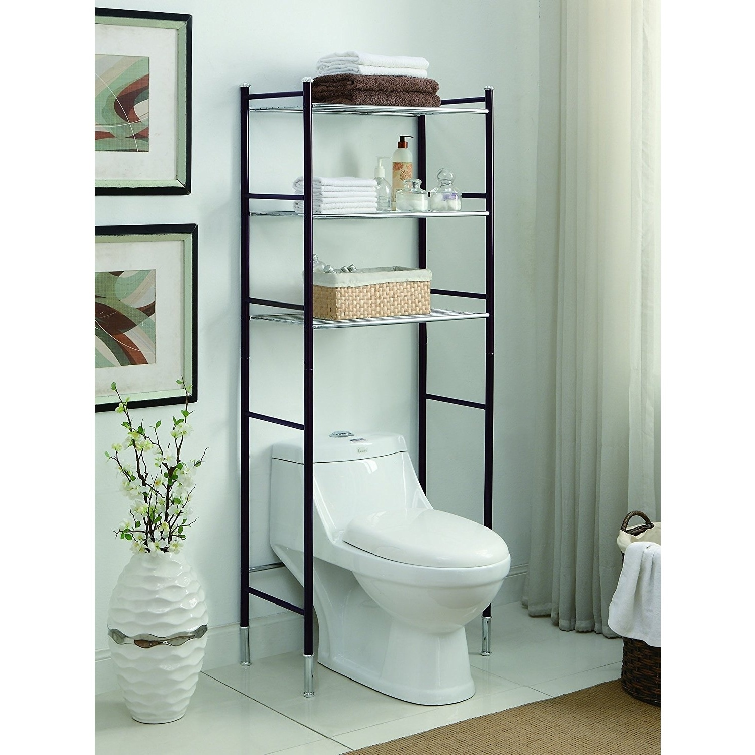 Shop Duplex Bathroom Spacesaver - Free Shipping Today - Overstock ...