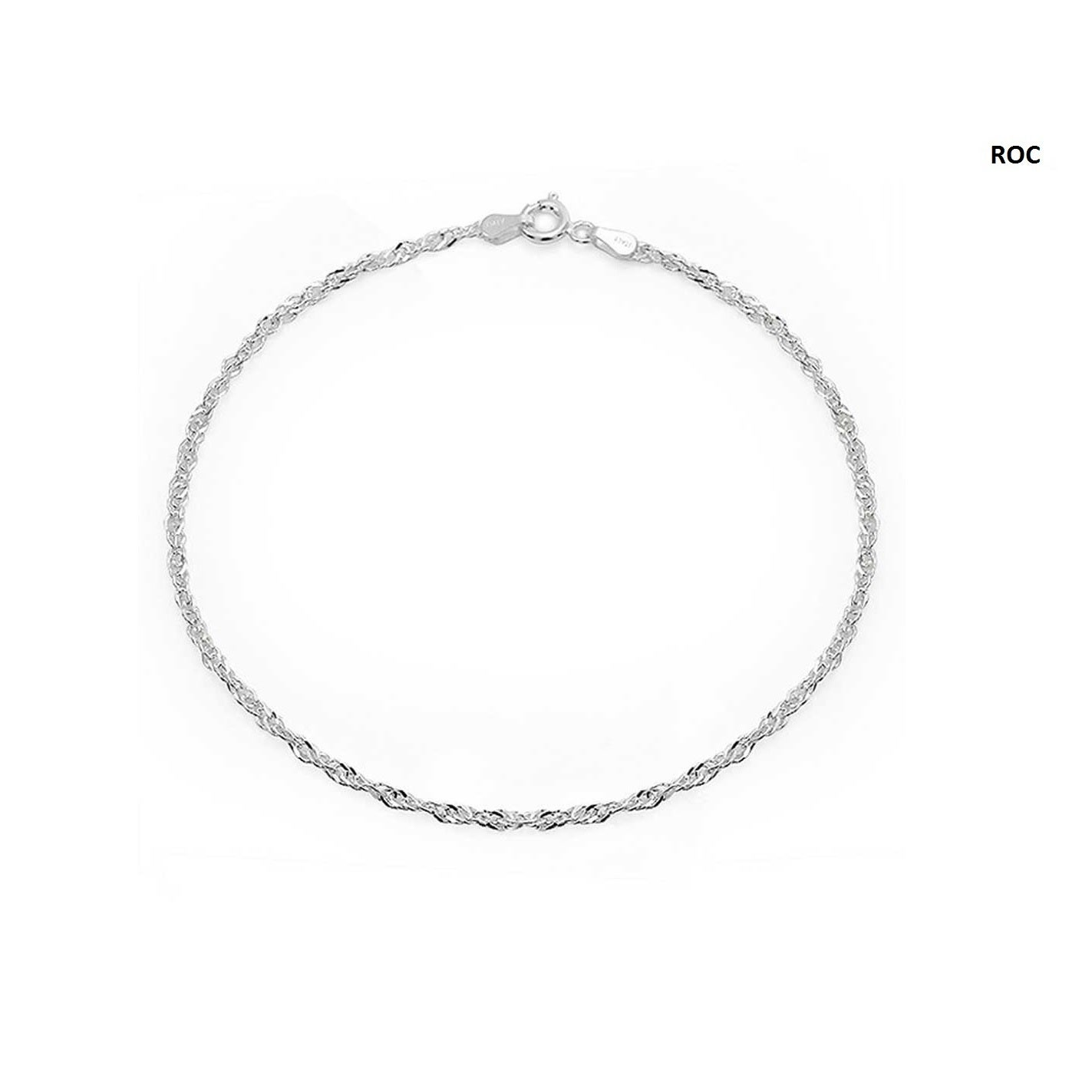 925 Thin Sterling Silver Uni Bracelets Orted Styles On Free Shipping Orders Over 45 16753720