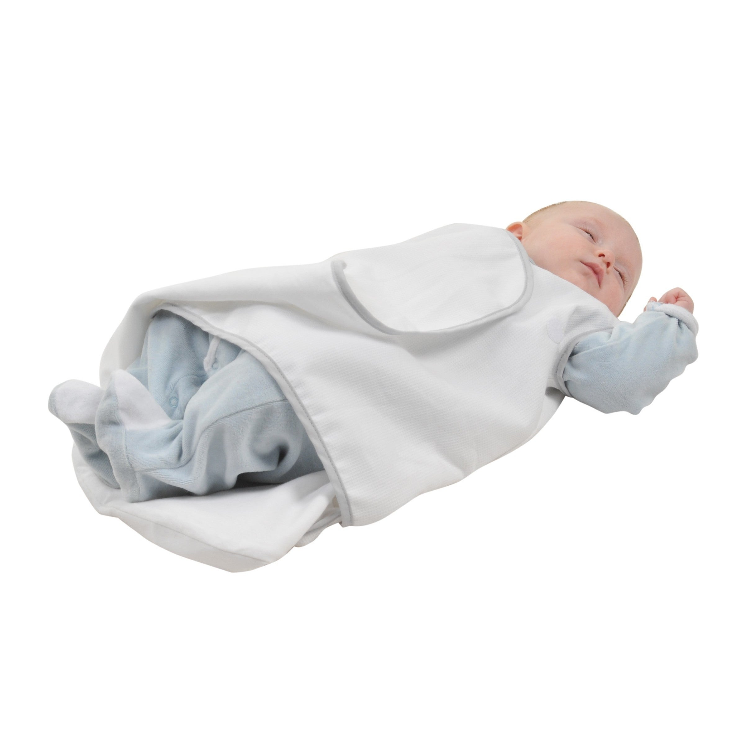 Shop Candide Baby Luxury White Swaddling Blanket and Infant Sleeper Bag  Bundle - On Sale - Free Shipping Today - Overstock - 16753747 850eac7fb