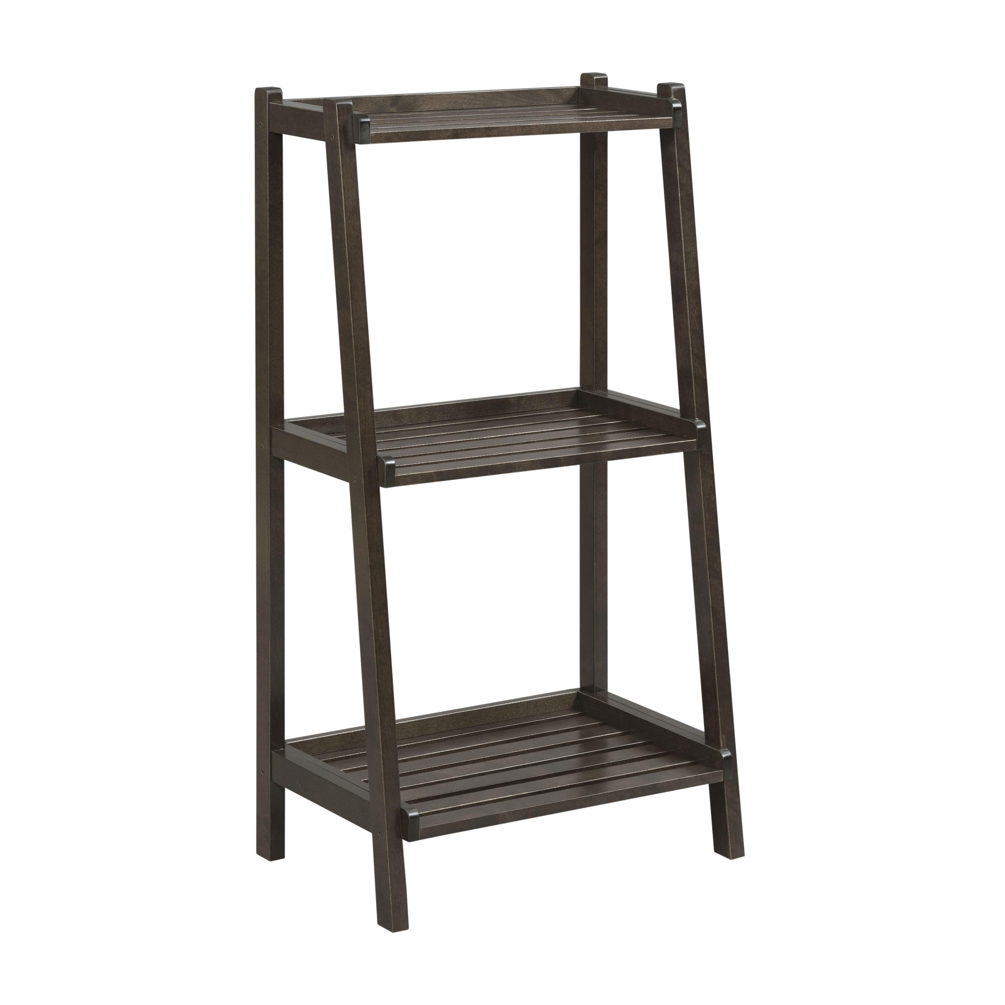 Shop NewRidge Home Solid Wood Dunnsville 3 Tier Ladder Shelf Bookcase