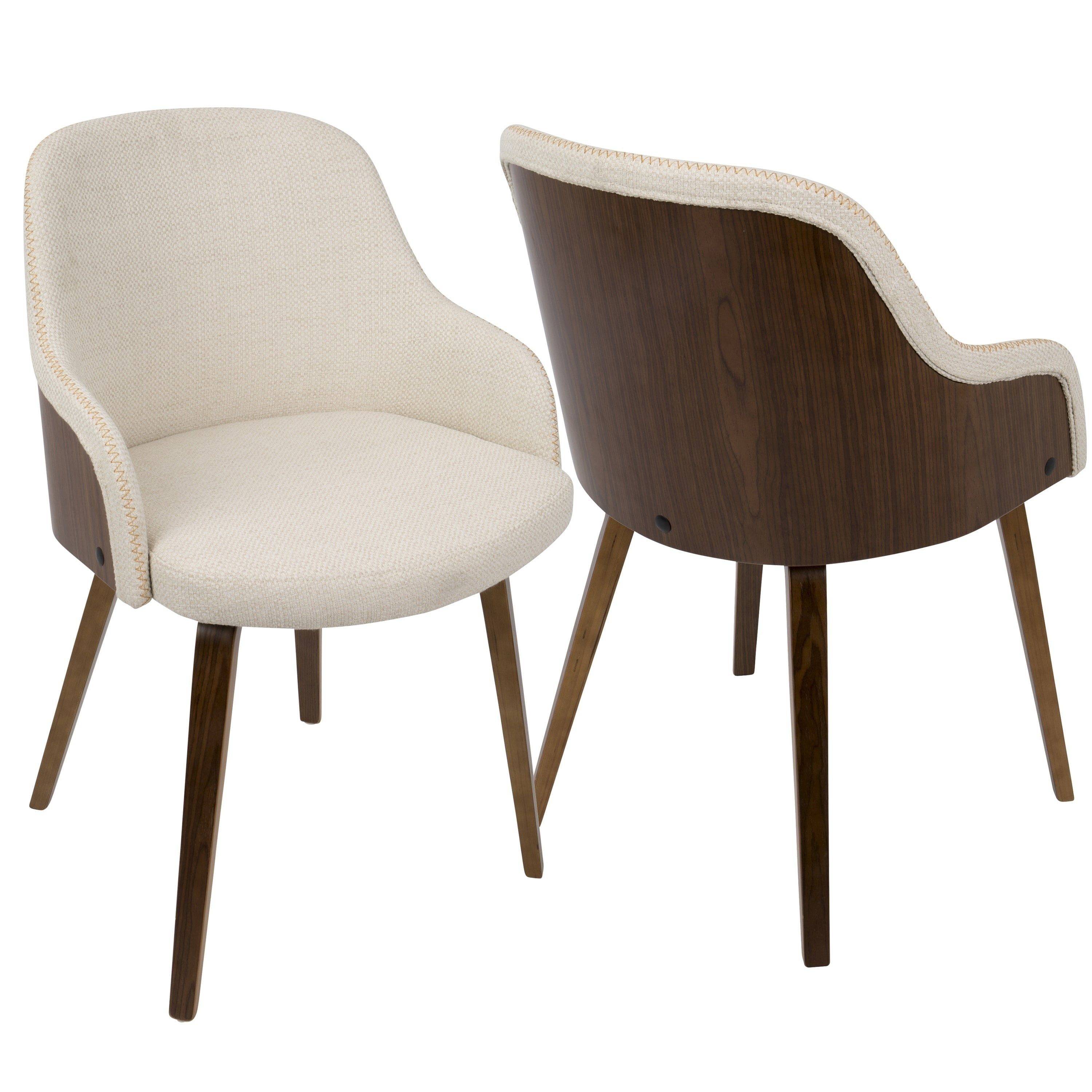 Modern Unique Accent Chairs.Carson Carrington Duvnas Modern Upholstered Dining Accent Chair