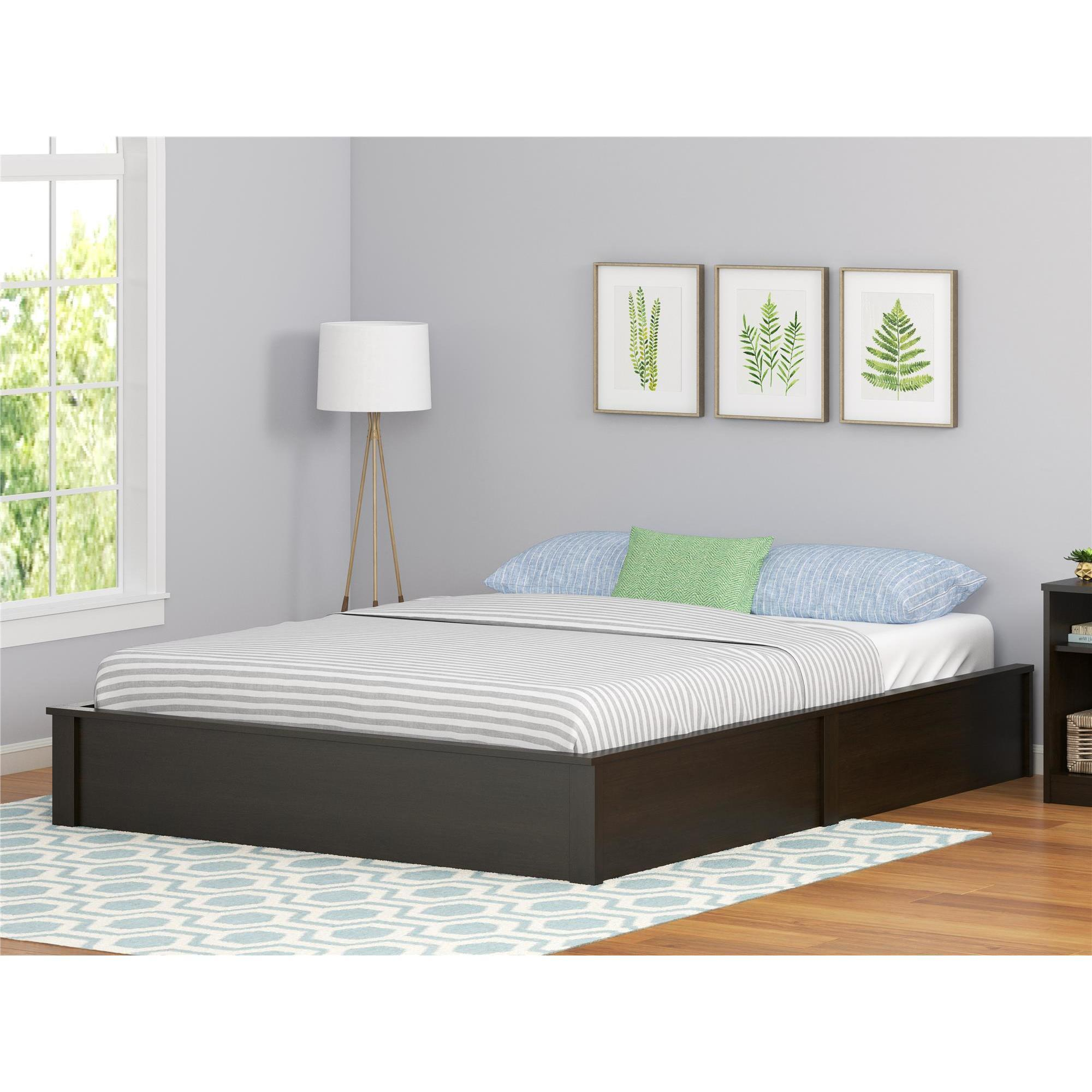 Ameriwood Home Platform Queen-size Bed Frame - Free Shipping Today ...
