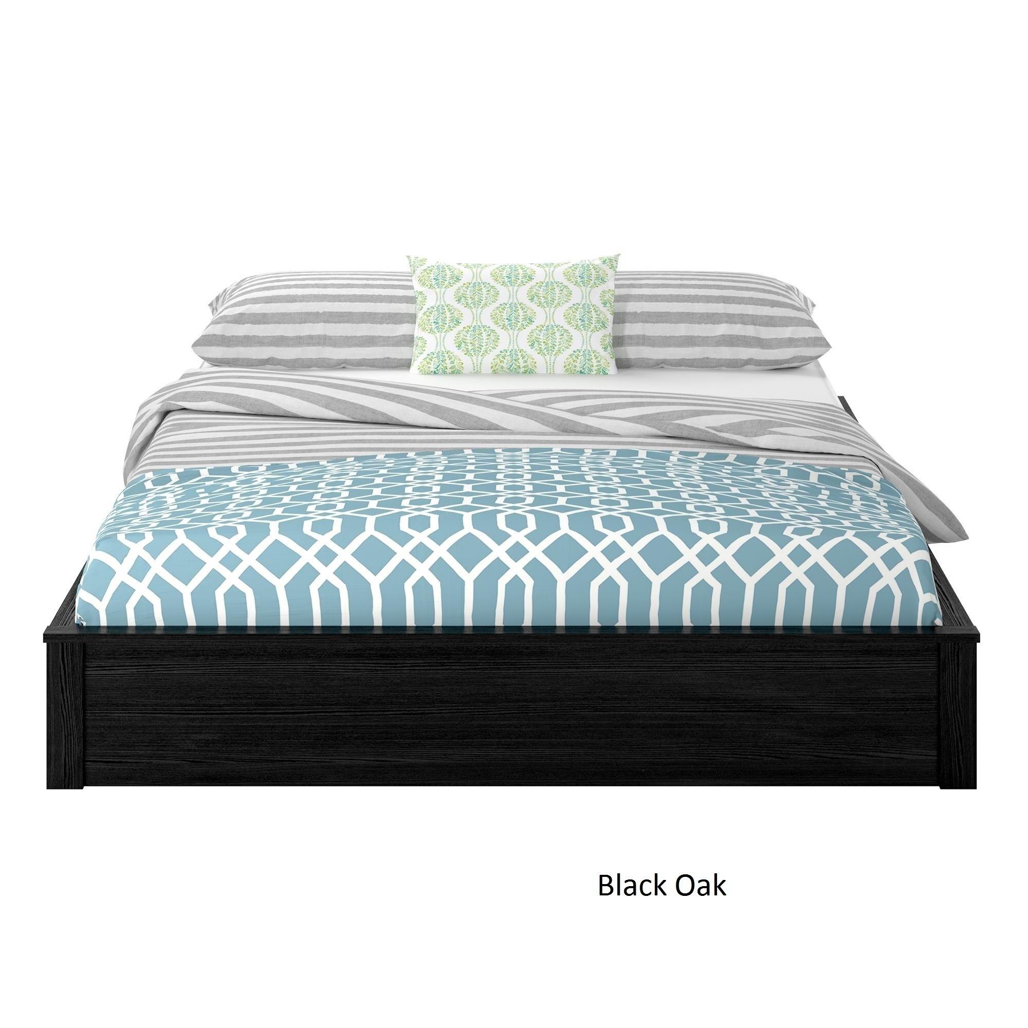 Shop Ameriwood Home Platform Queen-size Bed Frame - On Sale - Free ...