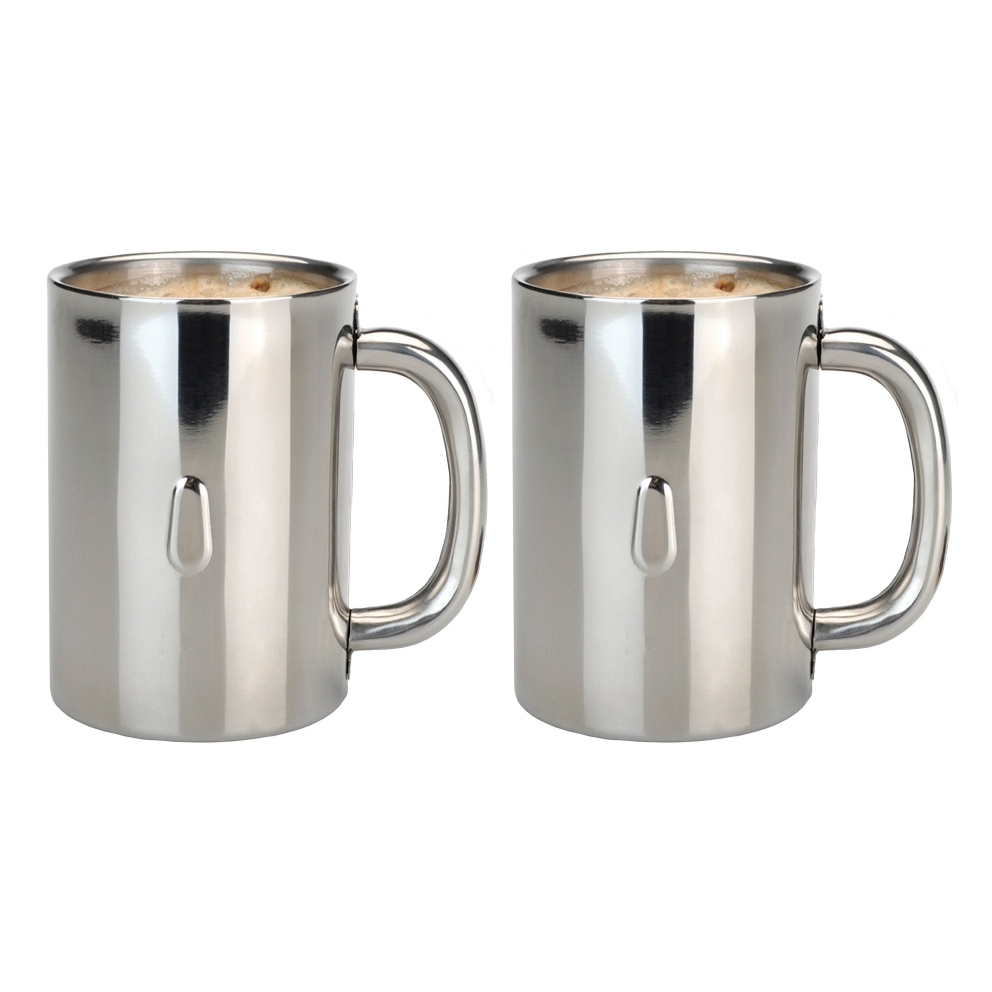 Straight 2pc Ss Coffee Mug Set Free Shipping On Orders Over 45 16765714
