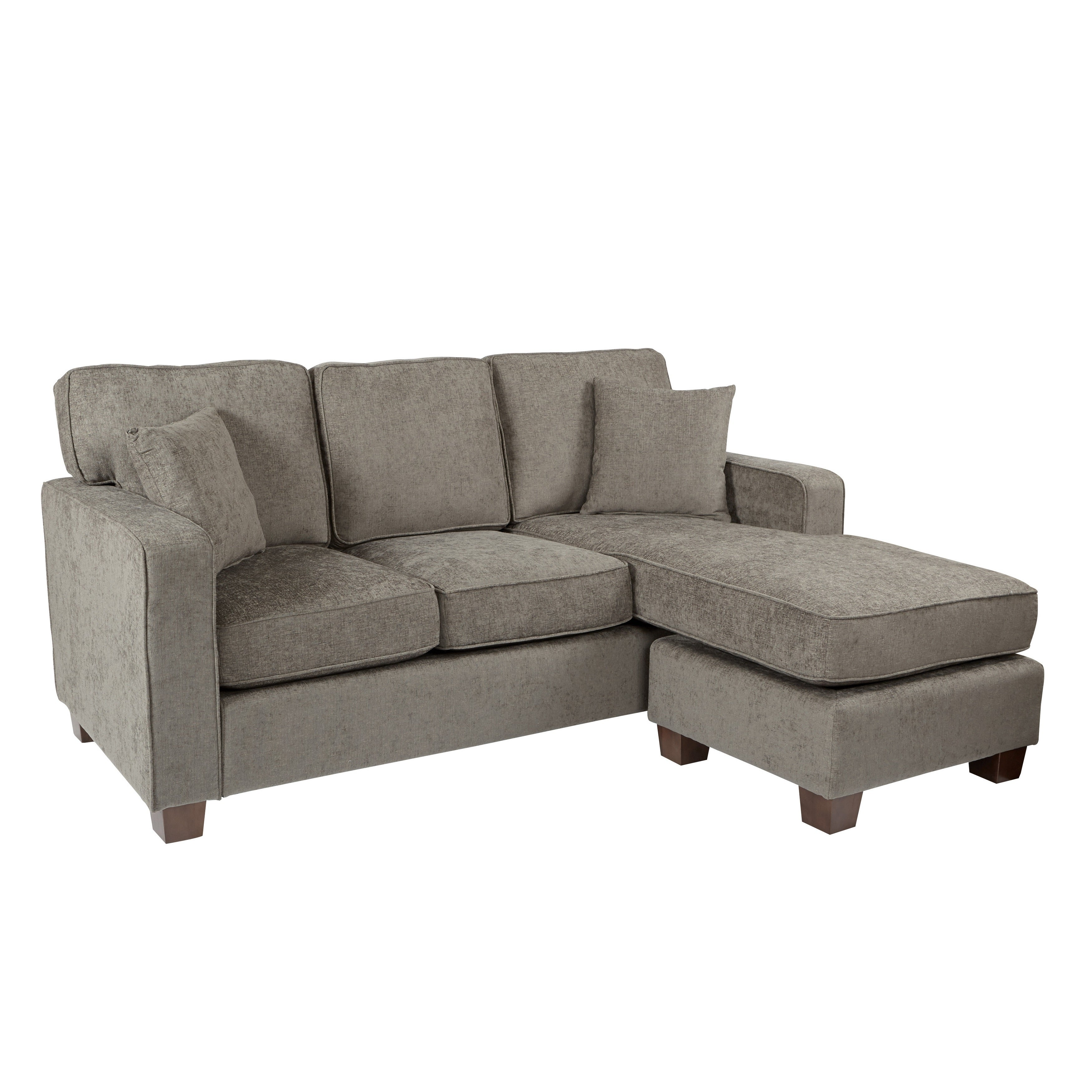 Porch U0026 Den Over The Rhine Renner Reversible Chaise Sectional Sofa   Free  Shipping Today   Overstock   23075361