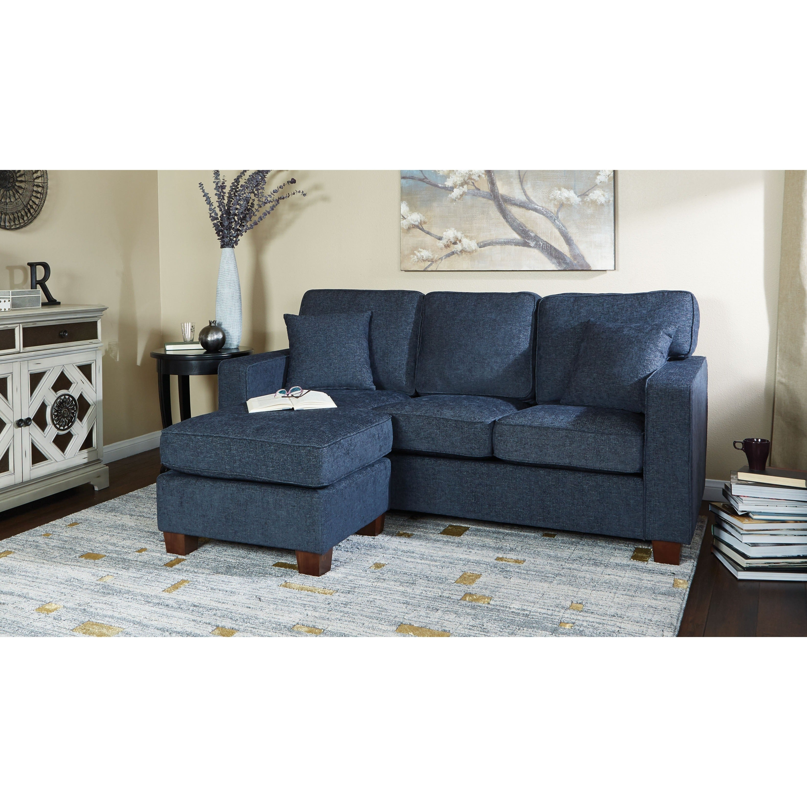 Merveilleux Shop Porch U0026 Den Over The Rhine Renner Reversible Chaise Sectional Sofa    Free Shipping Today   Overstock.com   20340403