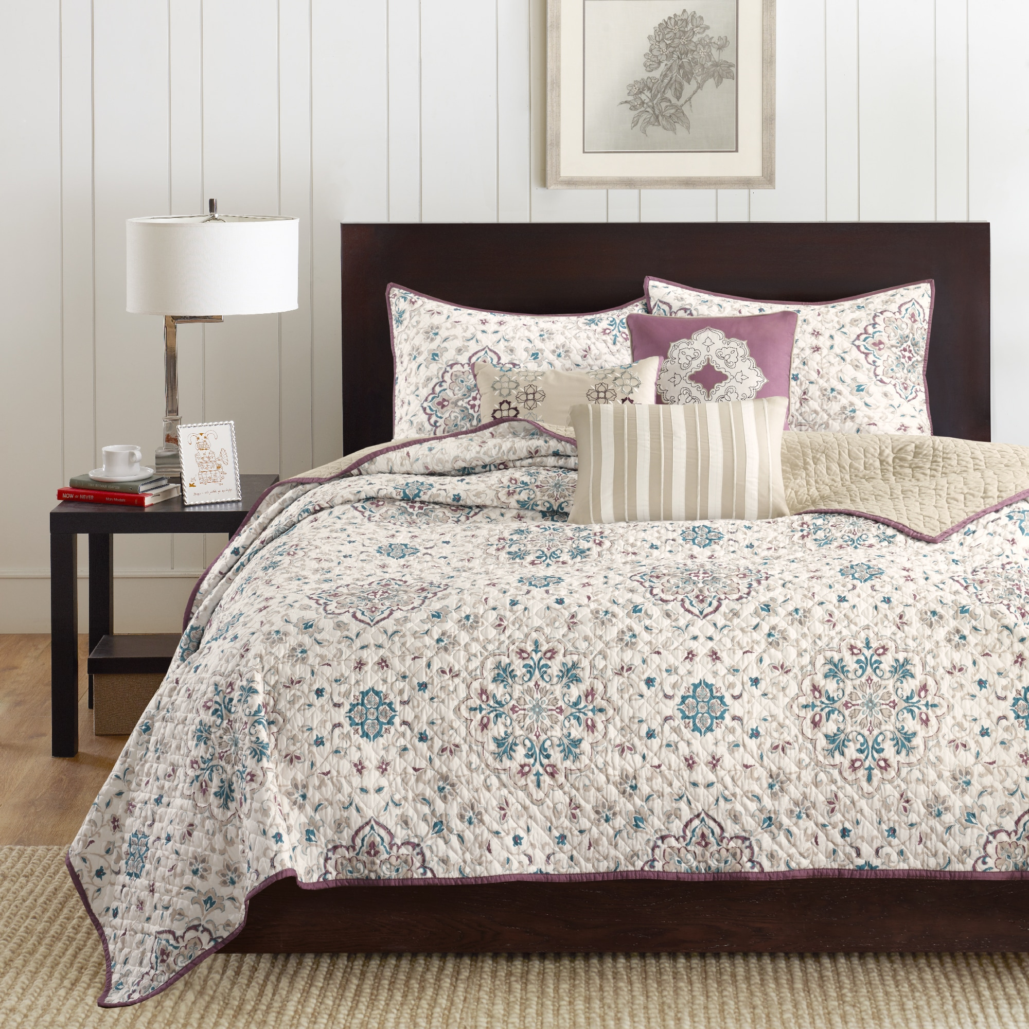 set shipping piece coverlet park product quilt on bedding madison today overstock free maya bath sale plum