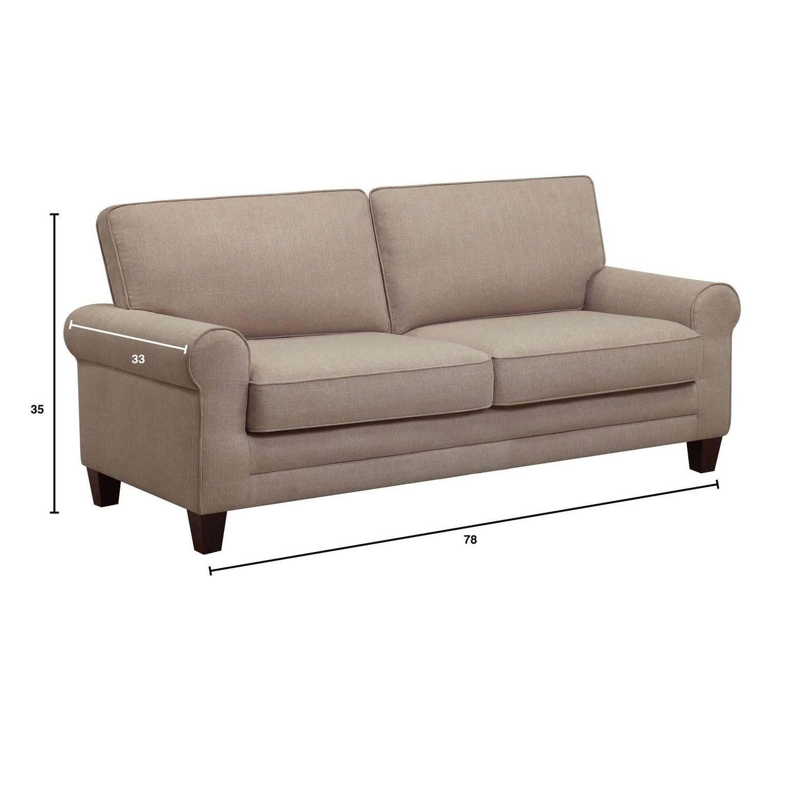 Serta Copenhagen 78 Inch Sofa Free Shipping Today 16767813
