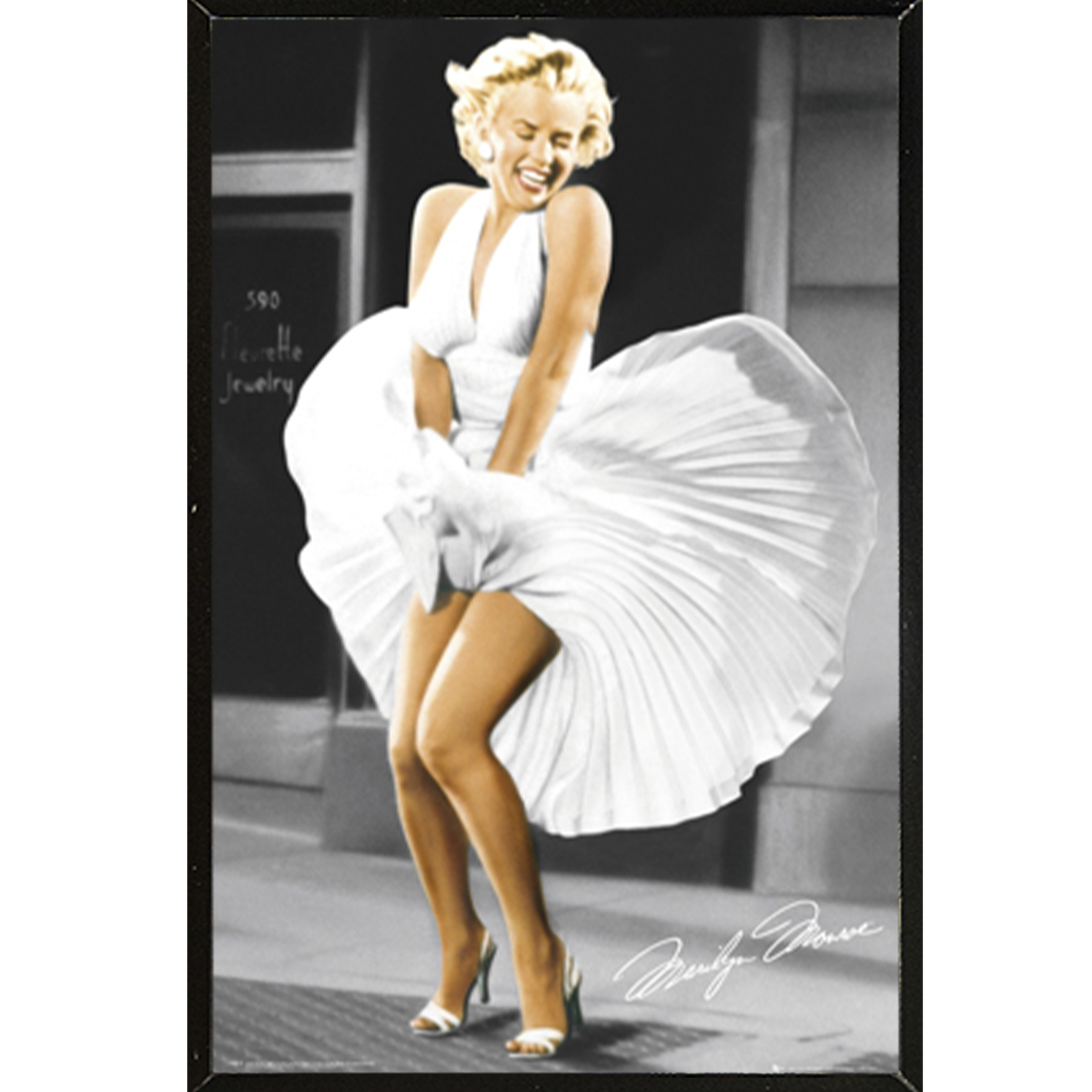 Shop Marilyn Monroe Seven Year Itch Poster With Choice of Frame ...