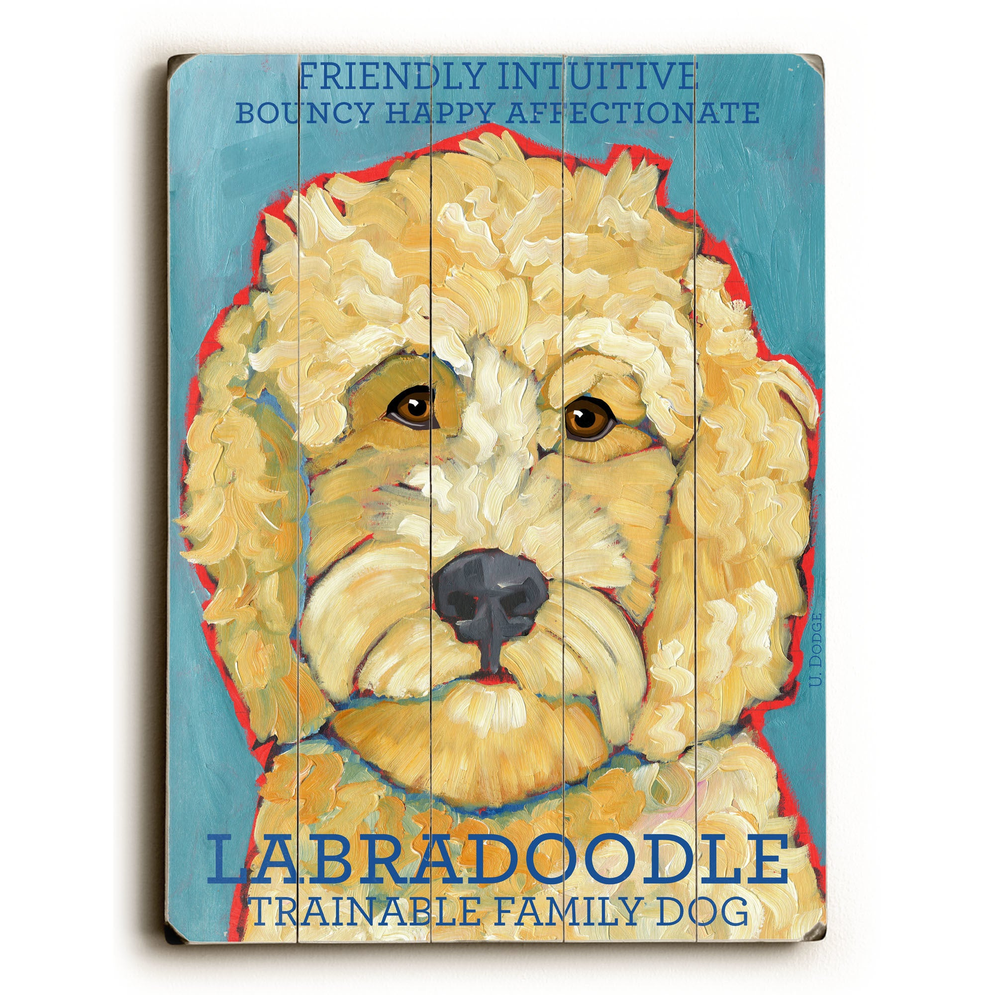 Shop Labradoodle - Wall Decor by Ursula Dodge - Free Shipping On ...