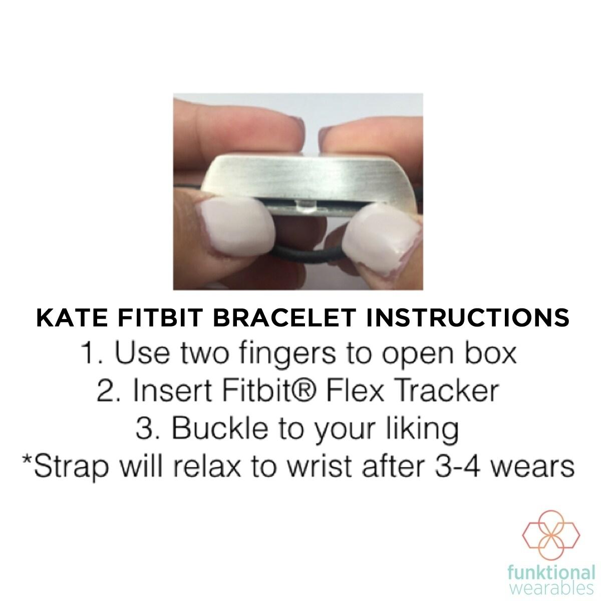 Shop Kate Wrap Bracelet For Fitbit Flex On Sale Free Shipping