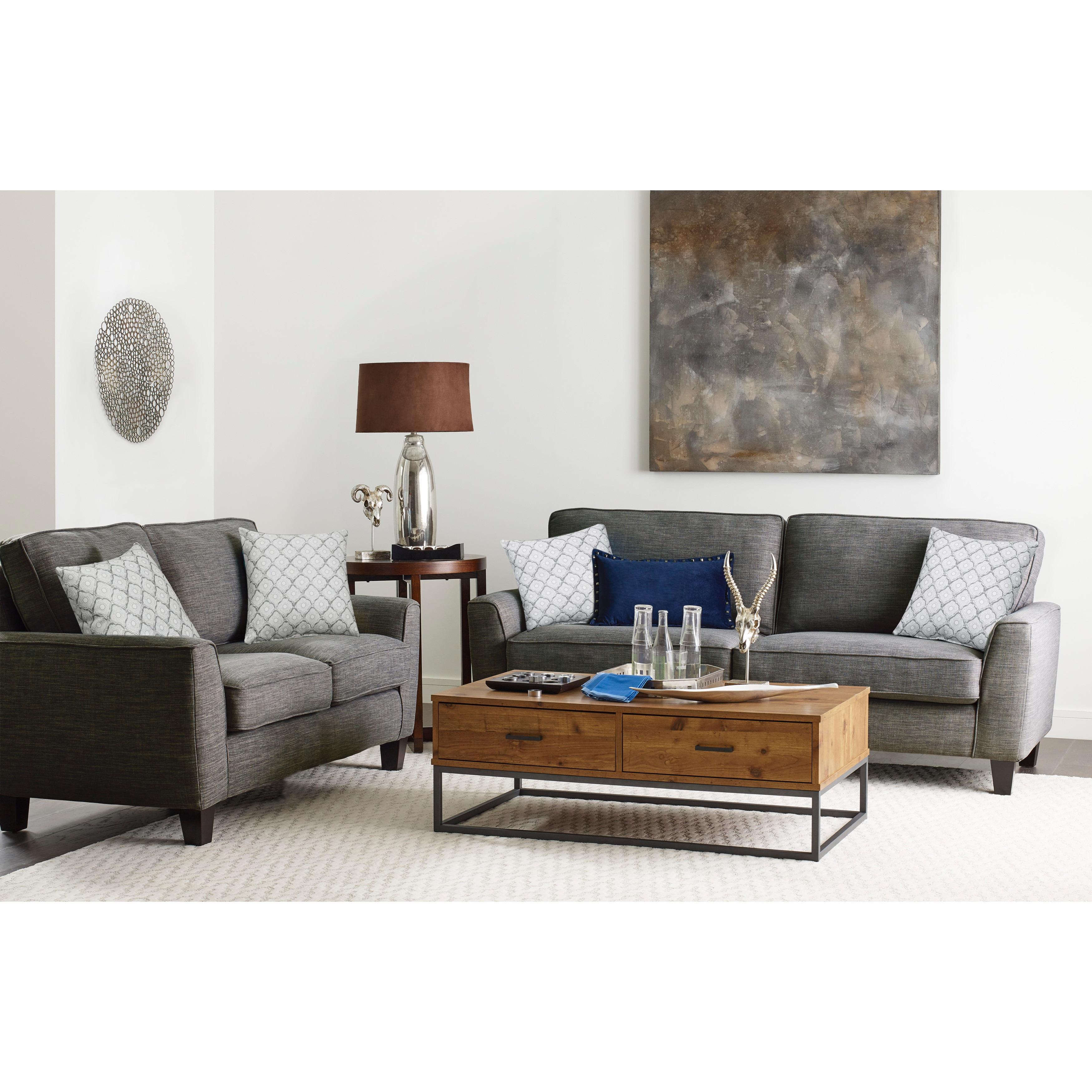 Shop Serta Astoria Deep Seating 78-inch Sofa - Free Shipping Today ...