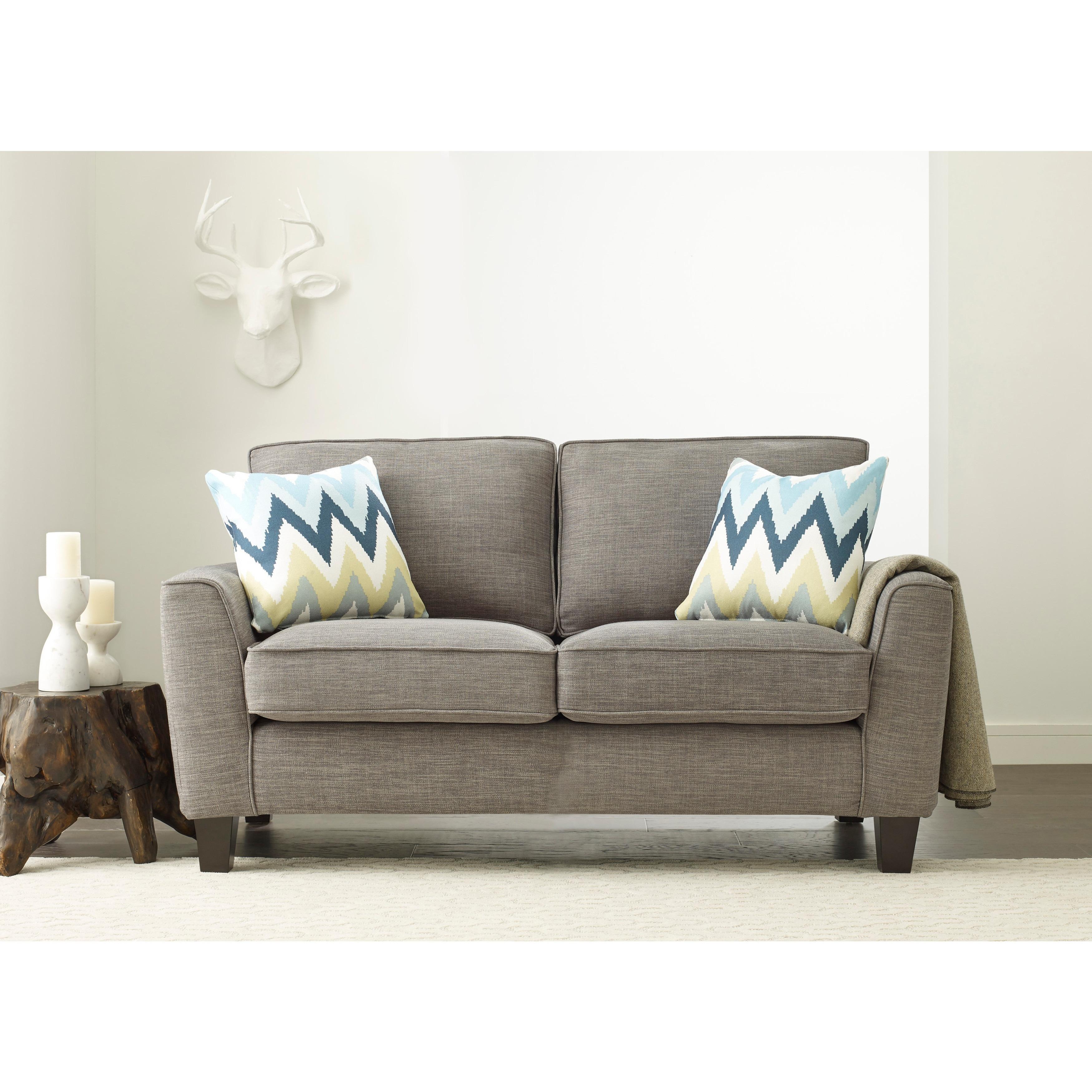 Shop Serta Astoria 61-inch Deep Seating Loveseat - Free Shipping ...