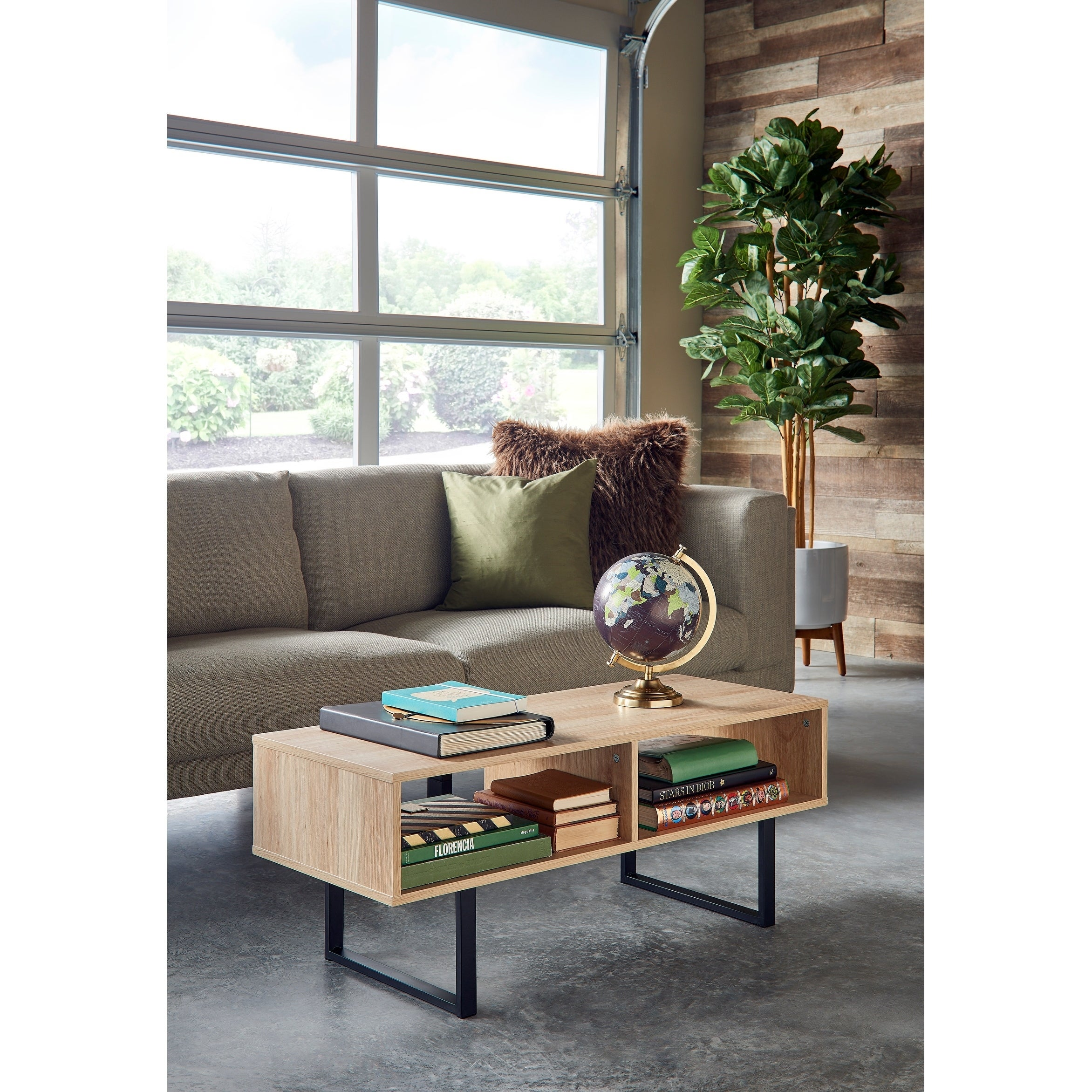 Carbon Loft Morse Industrial Coffee Table Free Shipping Today
