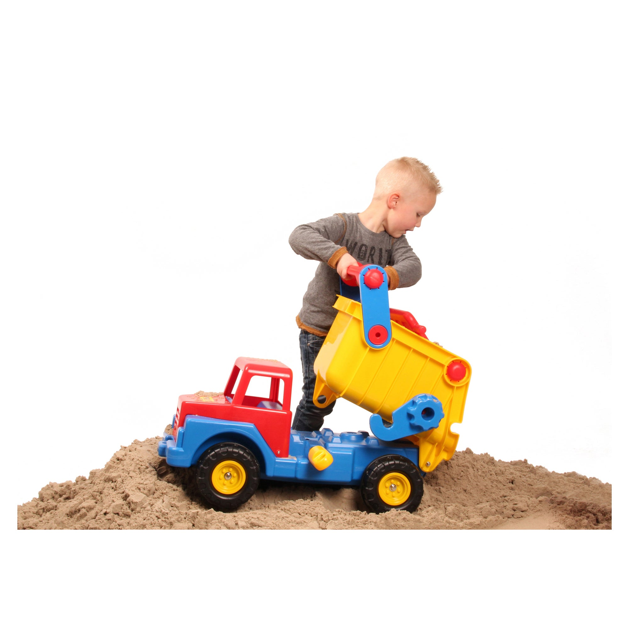 1189d460406 Shop Wader Quality Toys Giant Dump Truck - Free Shipping Today - Overstock  - 16804423