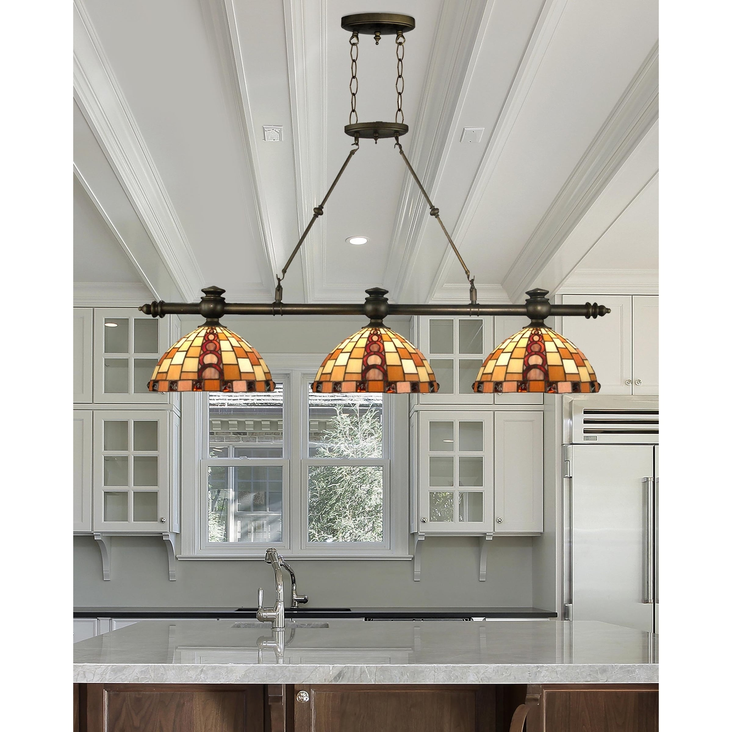 Springdale 495w baroque 3 light island hanging fixture free springdale 495w baroque 3 light island hanging fixture free shipping today overstock 23109986 arubaitofo Choice Image