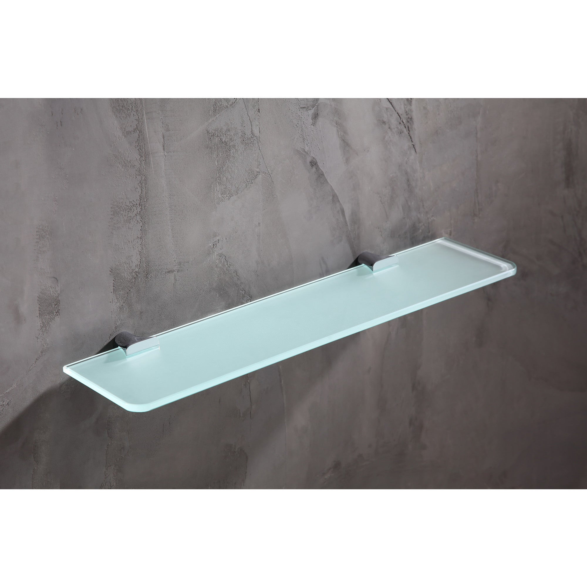 Shop ANZZI Essence Series Glass Shelf in Polished Chrome - Free ...