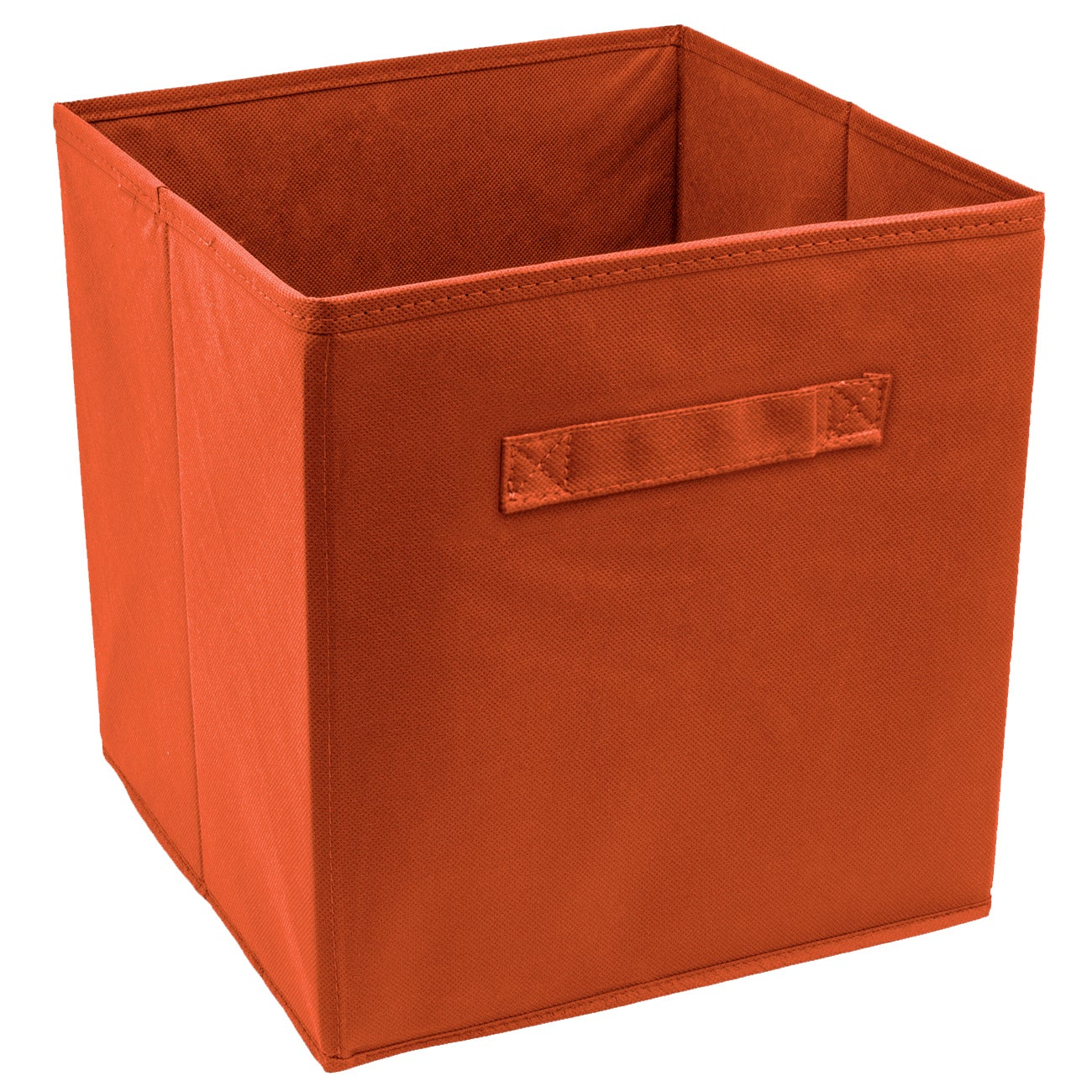 High Quality Sorbus Foldable Storage Cube Basket Bin (6 Pack, Orange)   Free Shipping On  Orders Over $45   Overstock   23118951