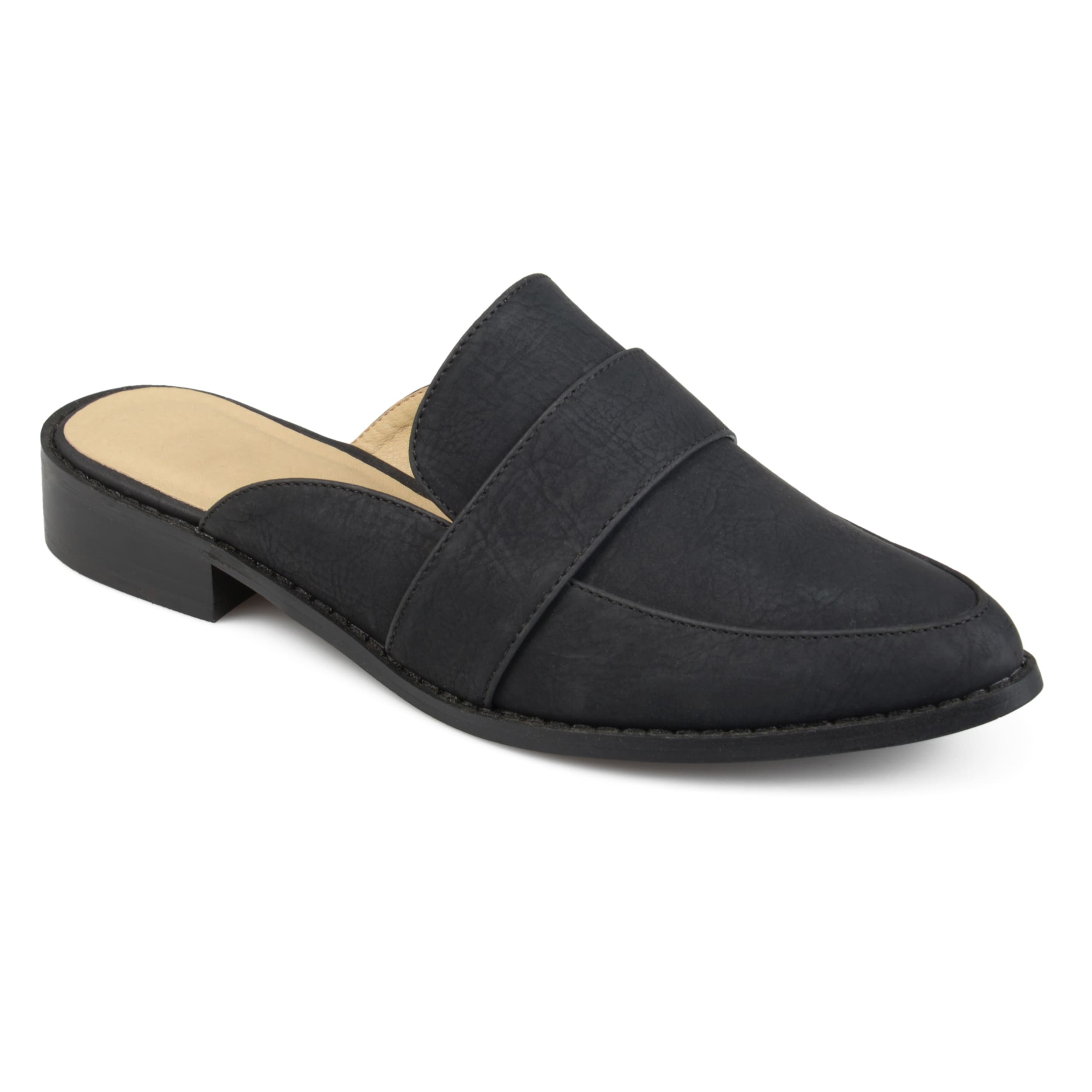 7ef904c91229 Shop Journee Collection Women s  Keely  Almond Toe Slip-on Mules - Free  Shipping On Orders Over  45 - Overstock - 16816920