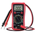 Digital Multimeter with Battery Testing Feature, Amp/ Volt/ Ohm Meter, Manual-ranging Multitester