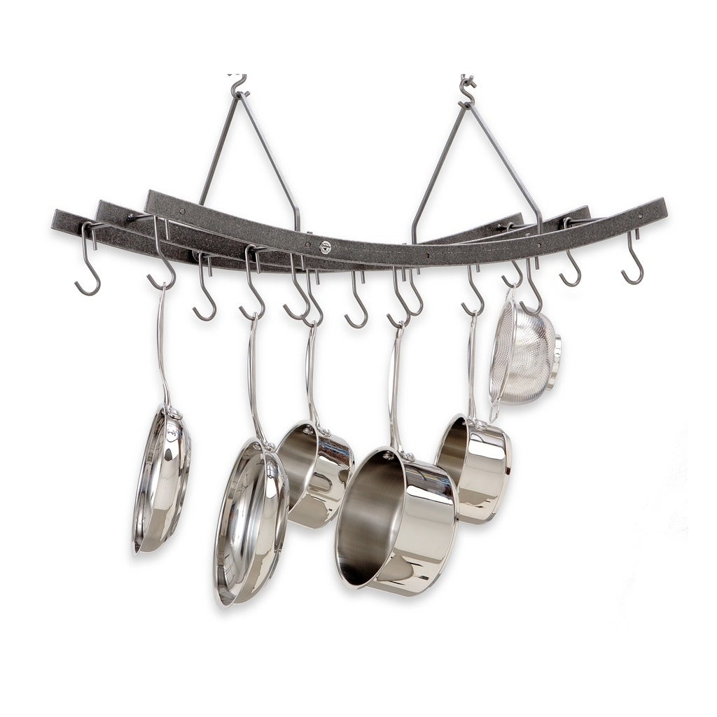 and make ceiling hanging pot hanger for a style rack pan concept best how to
