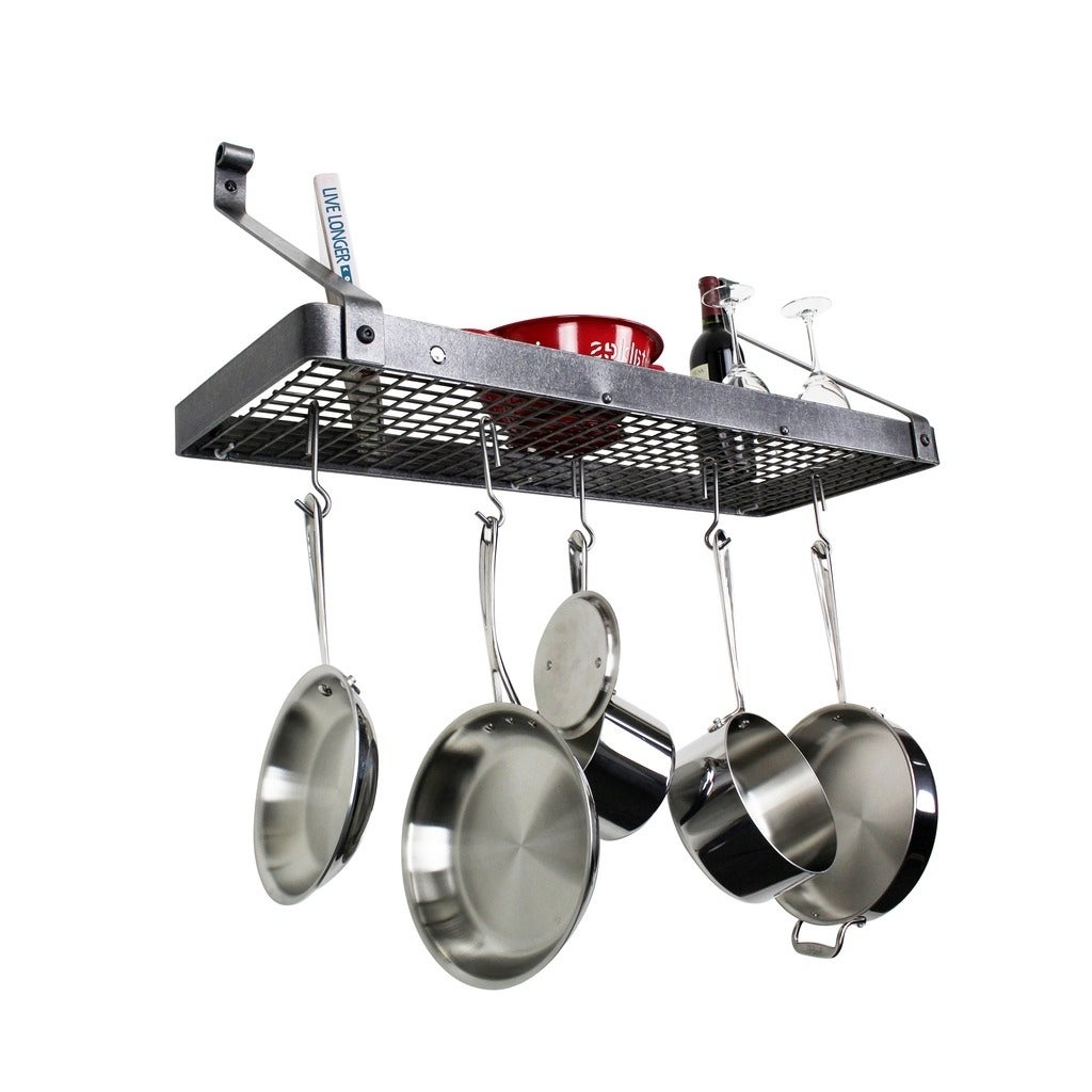 enclume letsreach it up pot rack bookshelf co