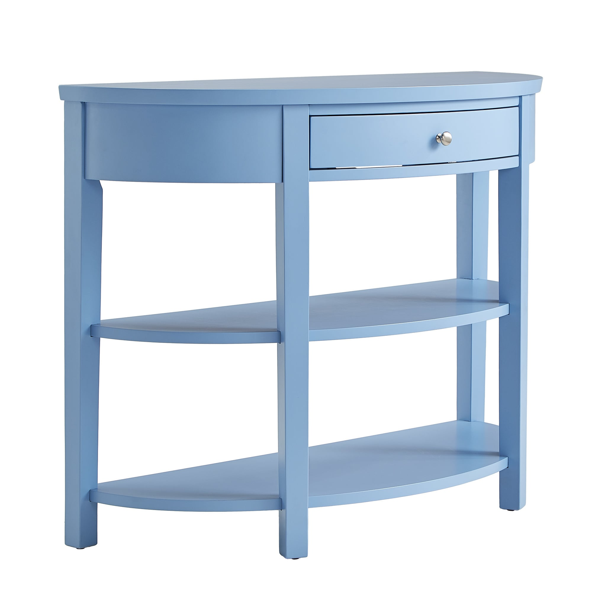 Fillmore Rounded 1-Drawer Console Table TV Stand by iNSPIRE Q Bold ...