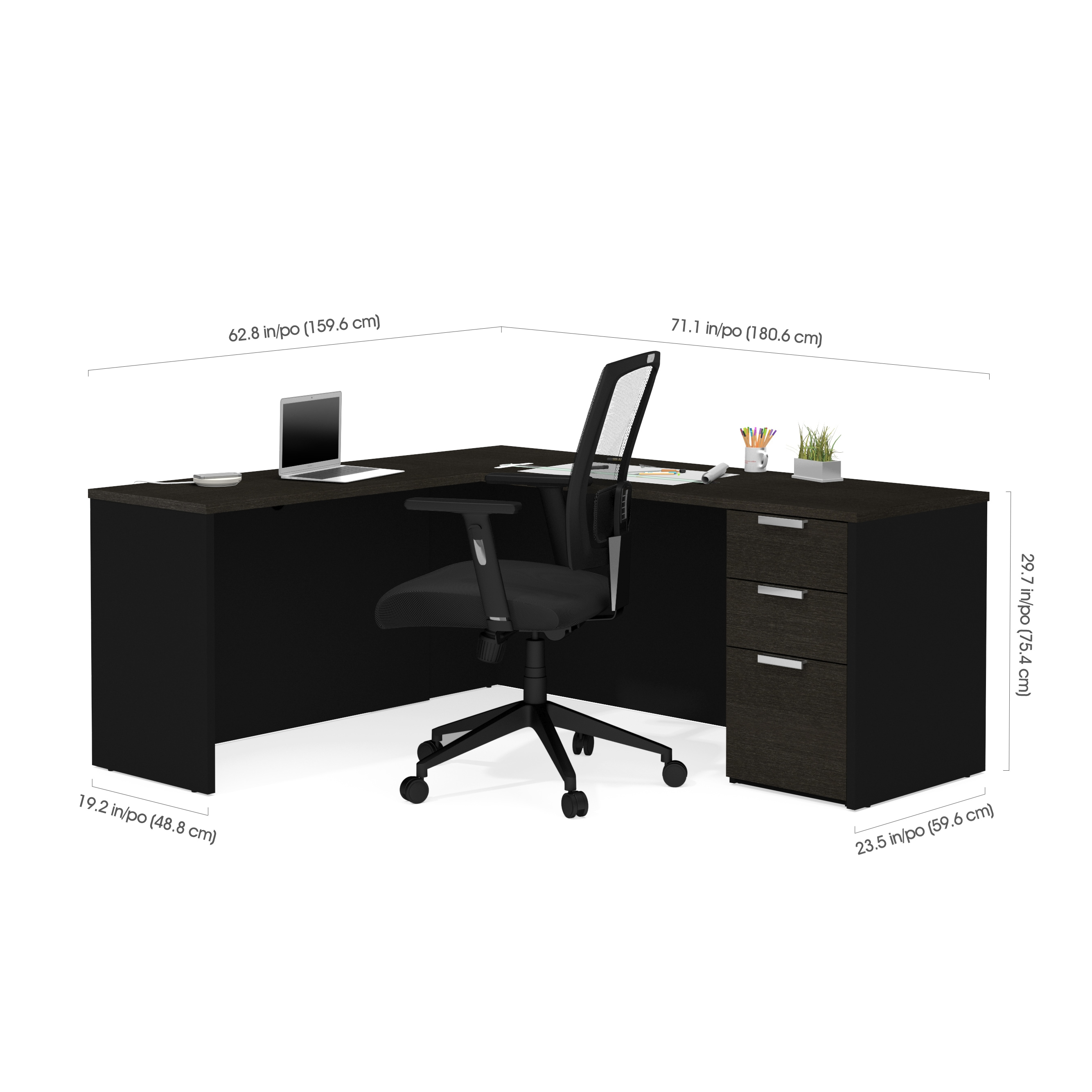 performance espresso collection realspace desk and picture l outlet magellan of x hutch