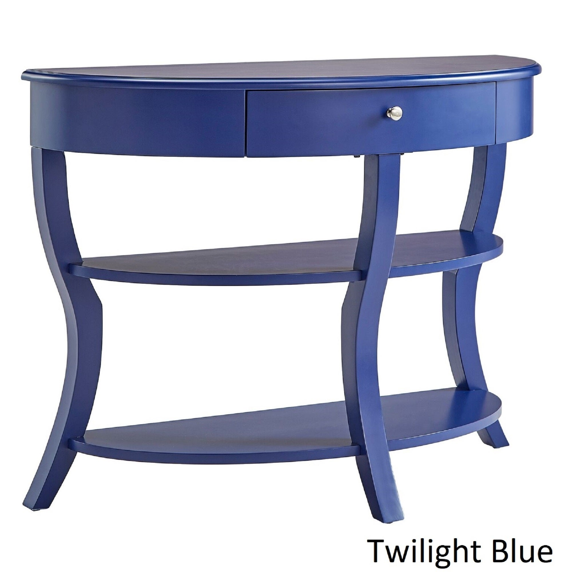 Burkhardt Rounded 1 Drawer Console Table Tv Stand By Inspire Q Bold On Free Shipping Today 16836911