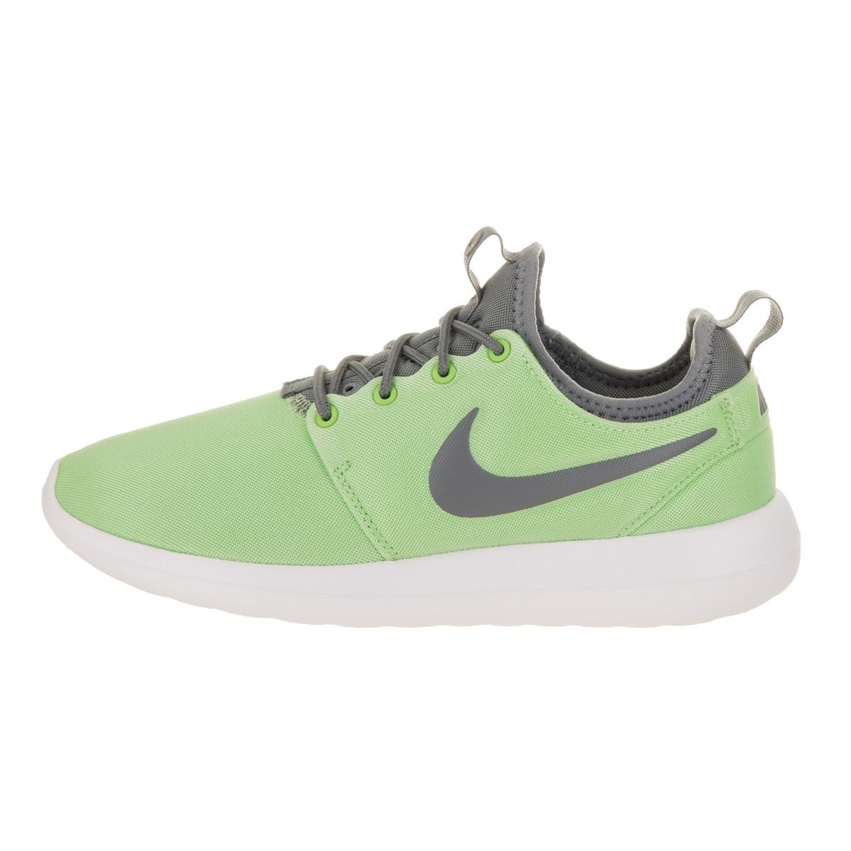 info for 7bcb5 8e025 Nike Women's Roshe Two Green Running Shoes