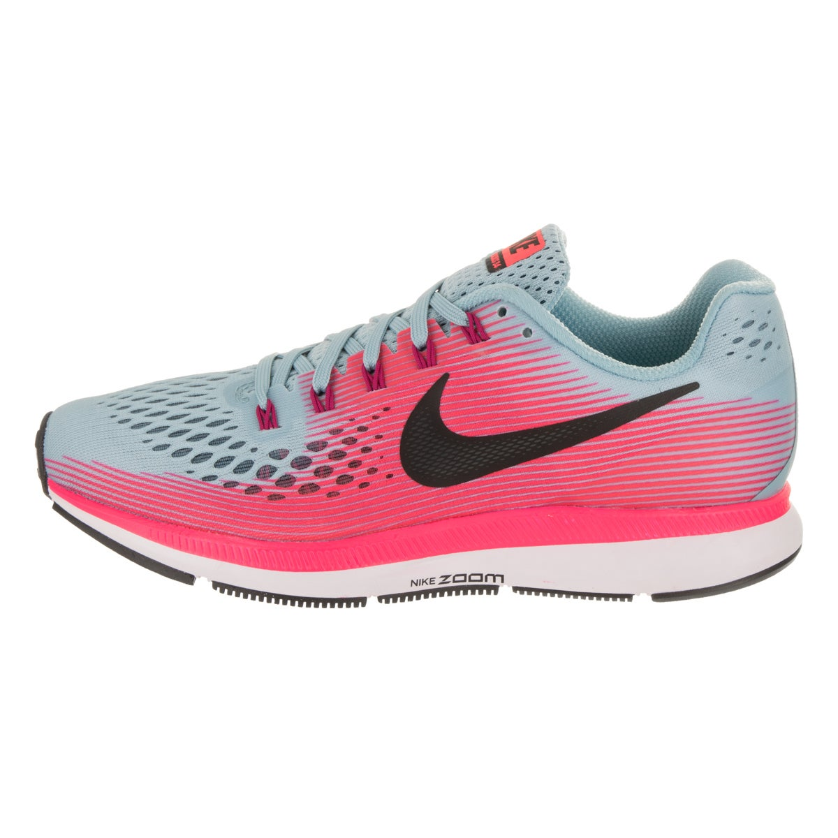 96d2ef6e560 Shop Nike Women s Air Zoom Pegasus 34 Wide Running Shoes - Free Shipping  Today - Overstock - 16839208