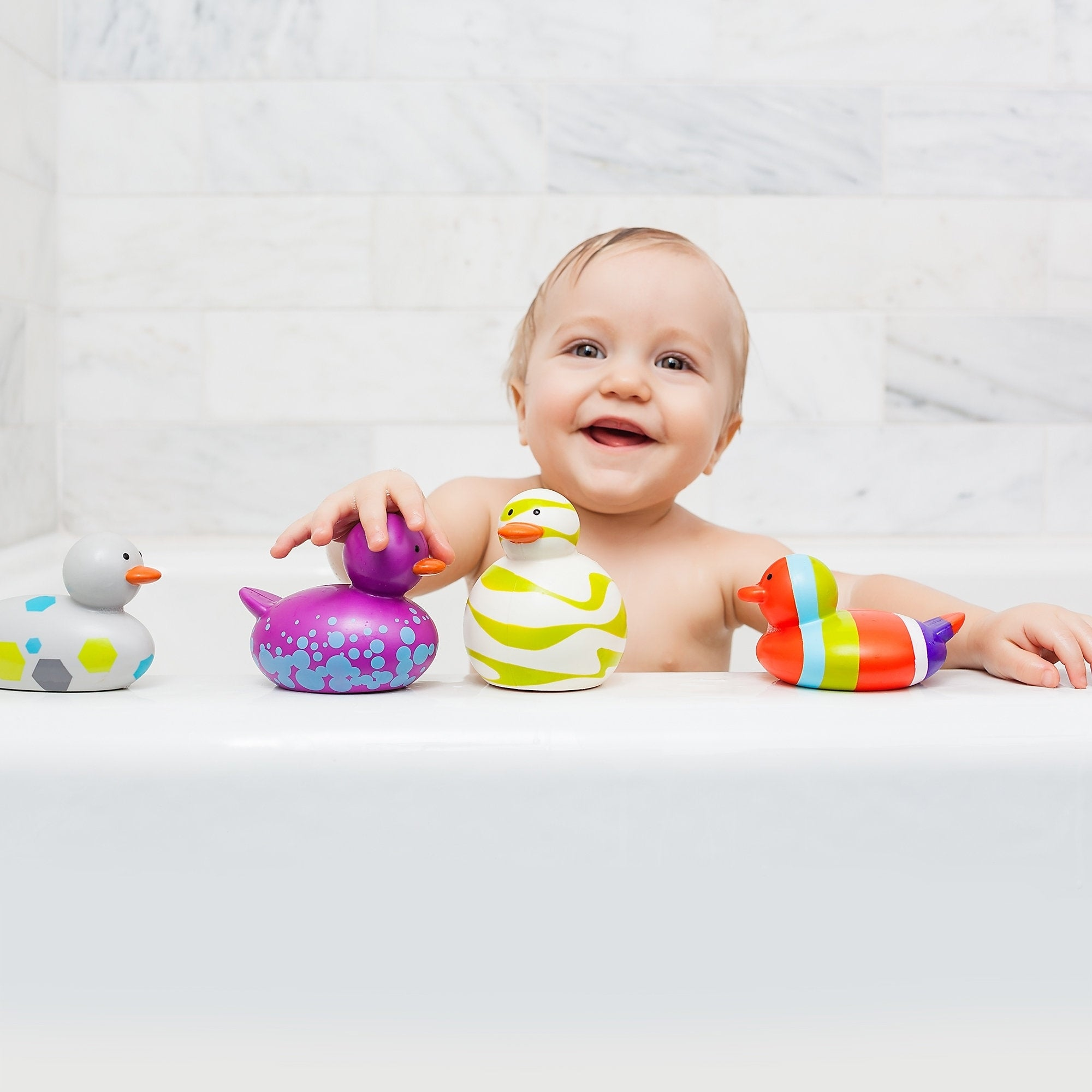 Boon Odd Ducks Bath Toys (Pack of 4) - Free Shipping On Orders Over ...