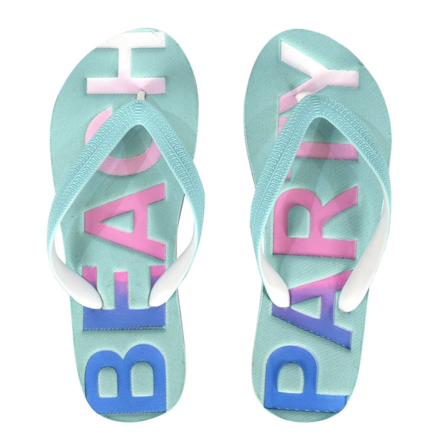 6e955e34f Shop Peach Couture Women s Summer Beach Embossed Flip Flops Casual Strappy  Slip ons - Free Shipping On Orders Over  45 - Overstock - 16849157