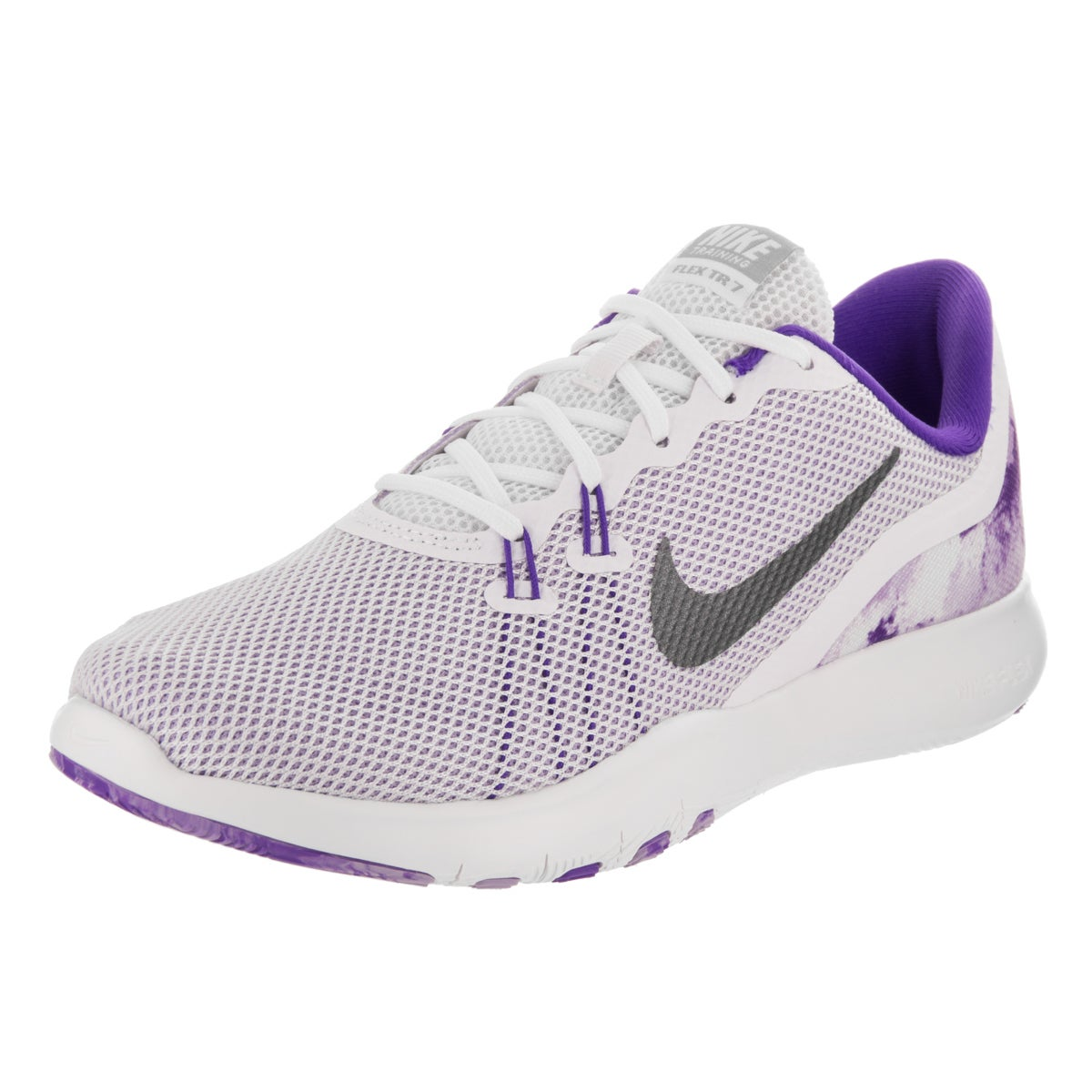 7dfe1746b620f Shop Nike Women s Flex Trainer 7 Print Training Shoe - Free Shipping Today  - Overstock.com - 16850390