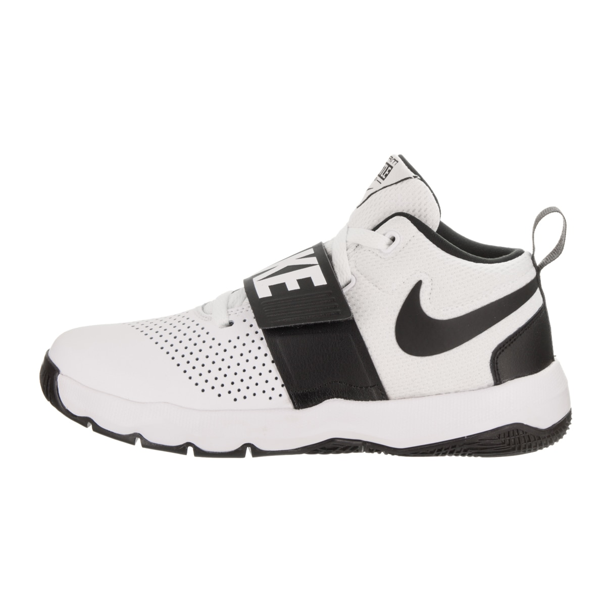check out 2a8e9 16097 Shop Nike Kids Team Hustle D 8 (GS) Basketball Shoe - Free Shipping Today -  Overstock - 16850408