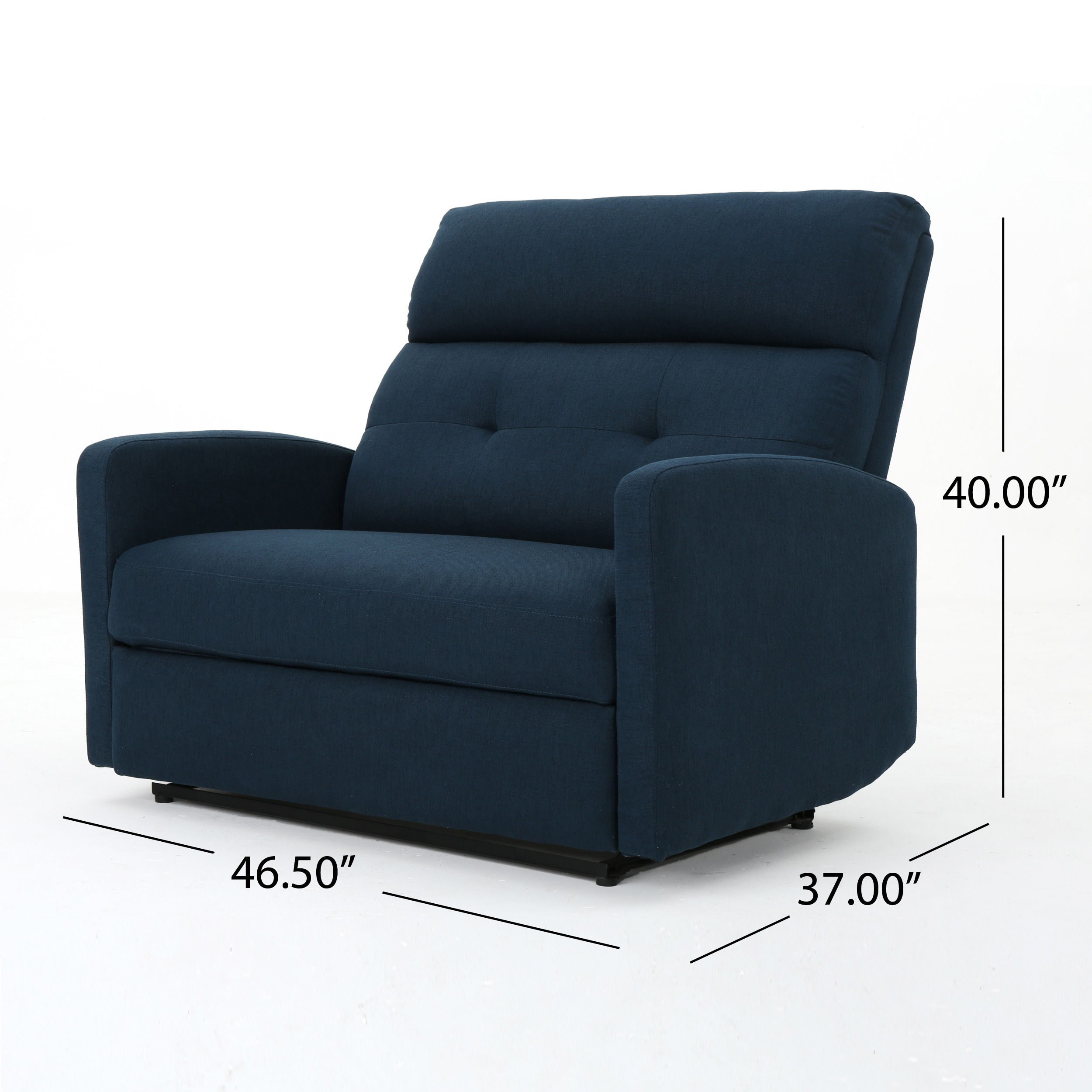 Shop Halima Fabric 2 Seater Recliner Club Chair By Christopher Knight Home    On Sale   Free Shipping Today   Overstock.com   16852064