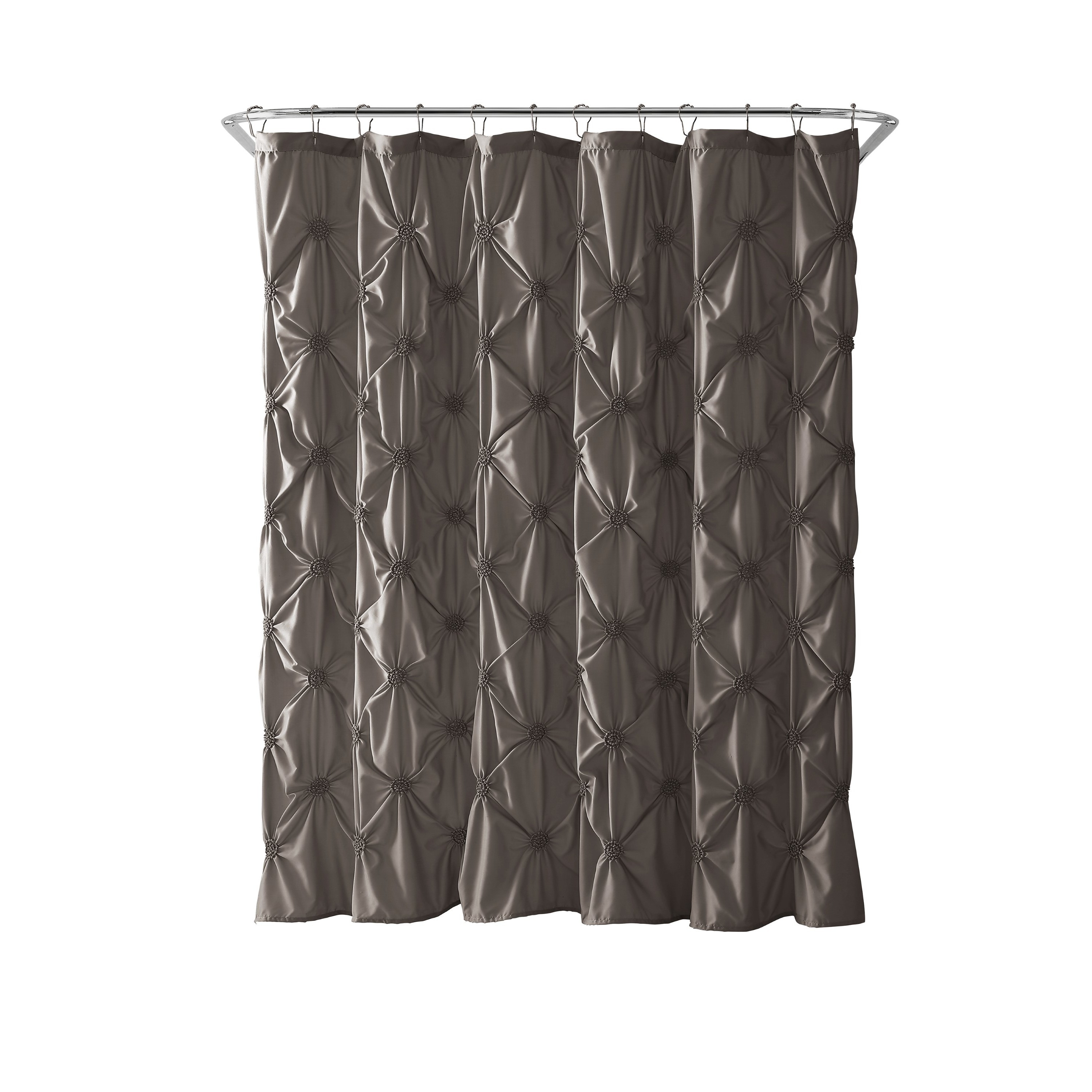 and maribella charcoal of shower curtains ruffled ombre curtain attachment black purple elegant