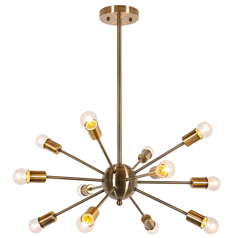 cerro brass listing mid flush mount chandelier century modern zoom fullxfull il sputnik