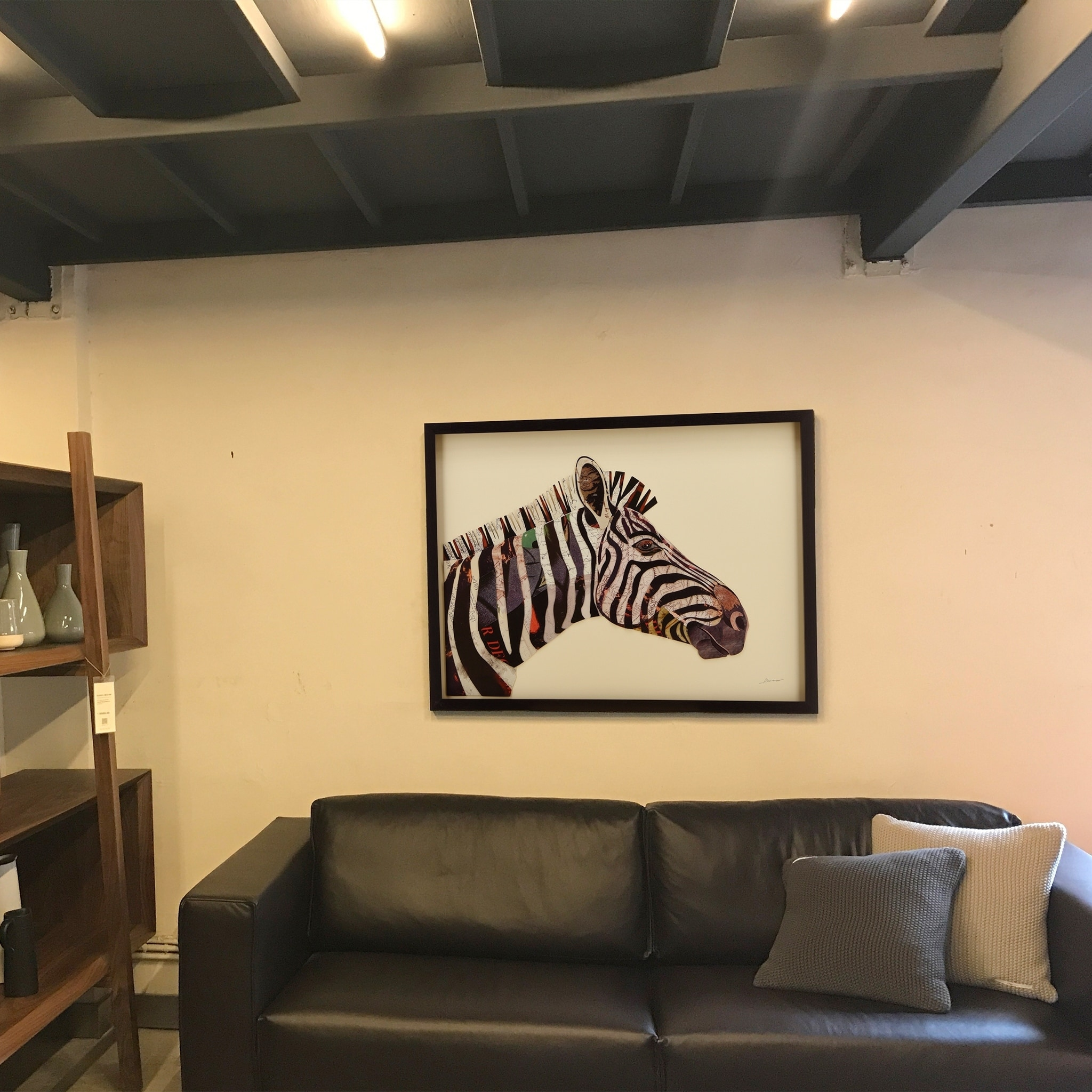 Empire Art \'Zebra\' Hand Made Signed Art Collage by EAD Artists Co-op ...