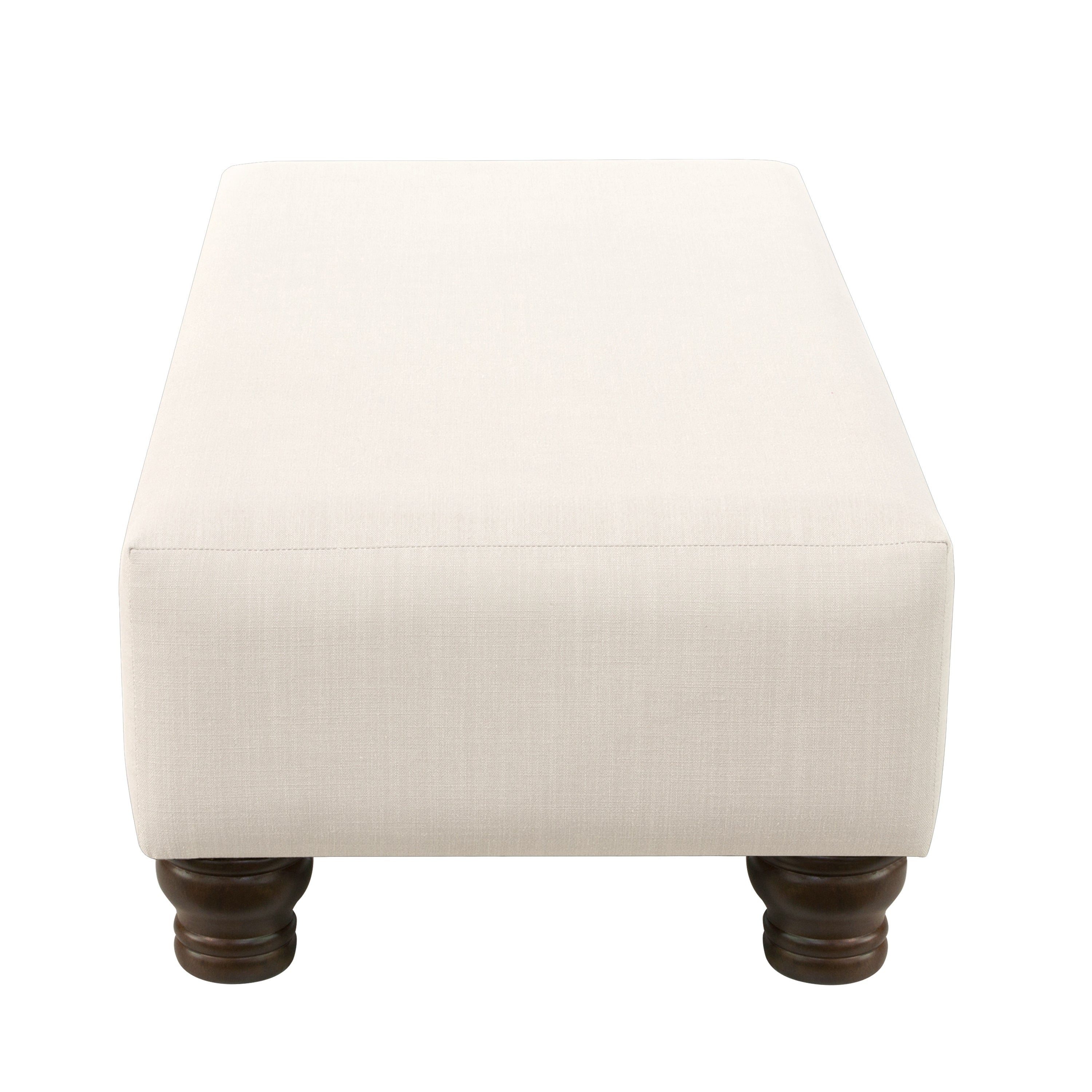 Skyline Furniture Ottoman In Linen   Free Shipping Today   Overstock    23216239