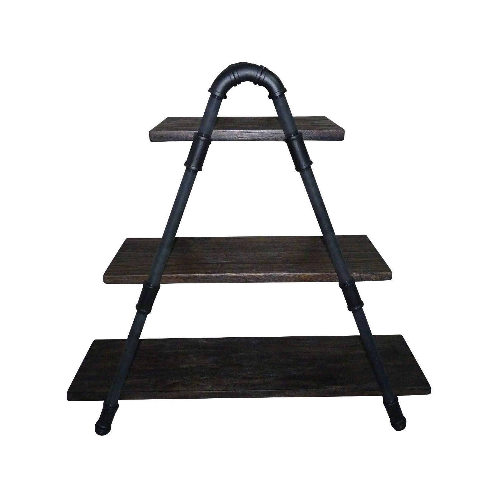 Shop Charleston Industrial Metal And Reclaimed-aged Wood Finish ...