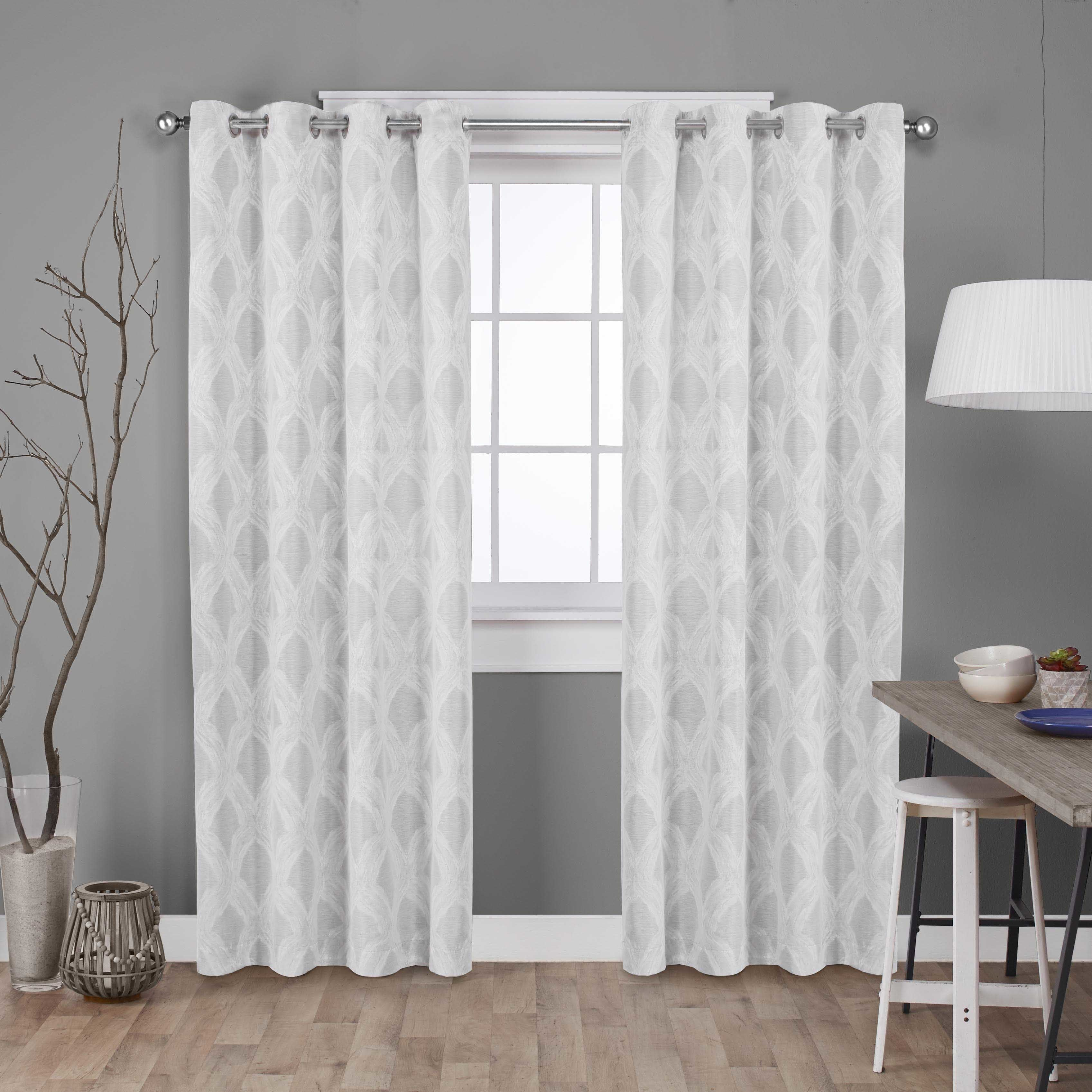 wonder wonderhome collections foster home blackout main grommet linen gray panel curtains solid