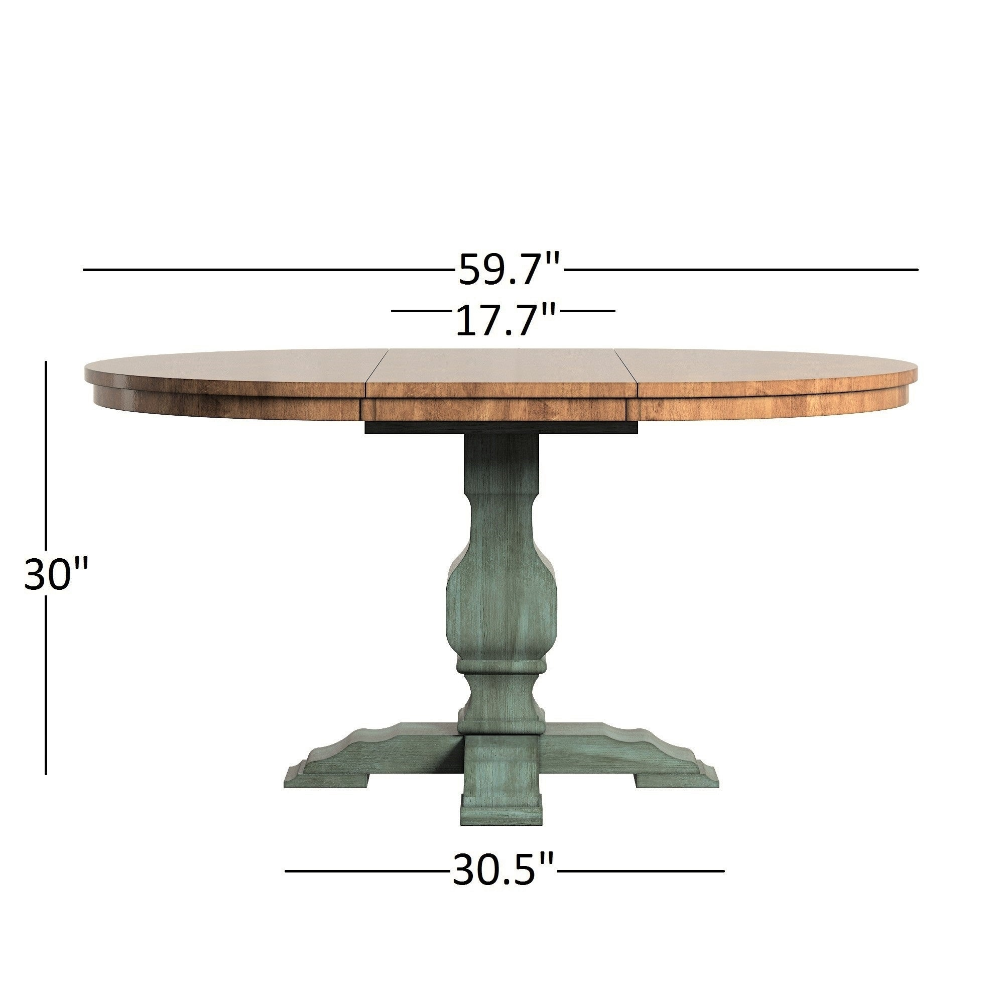 Shop Eleanor Sage Green Extending Oval Wood Table Panel Back 5 Piece Dining  Set By INSPIRE Q Classic   Free Shipping Today   Overstock.com   16940137