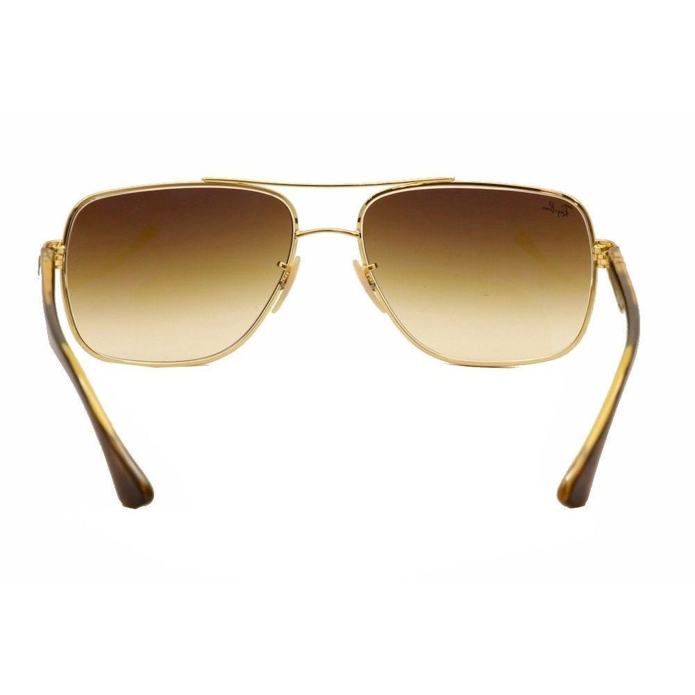 e40608b358 Shop Ray-Ban RB3483 Unisex Gold   Tortoise Frame Light Brown Gradient 60mm  Lens Sunglasses - Free Shipping Today - Overstock - 16944993
