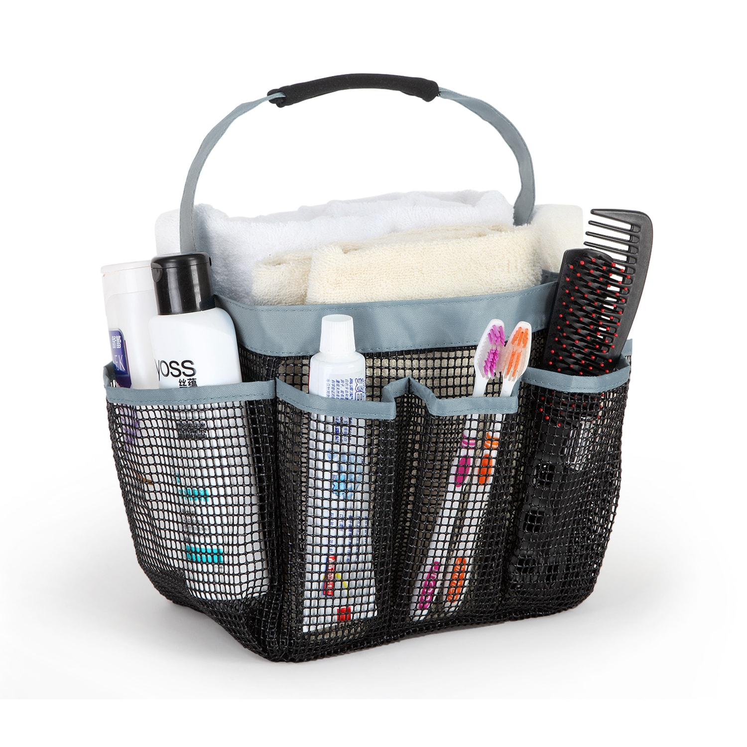 Shop Grey Portable Shower Caddy - Free Shipping On Orders Over $45 ...