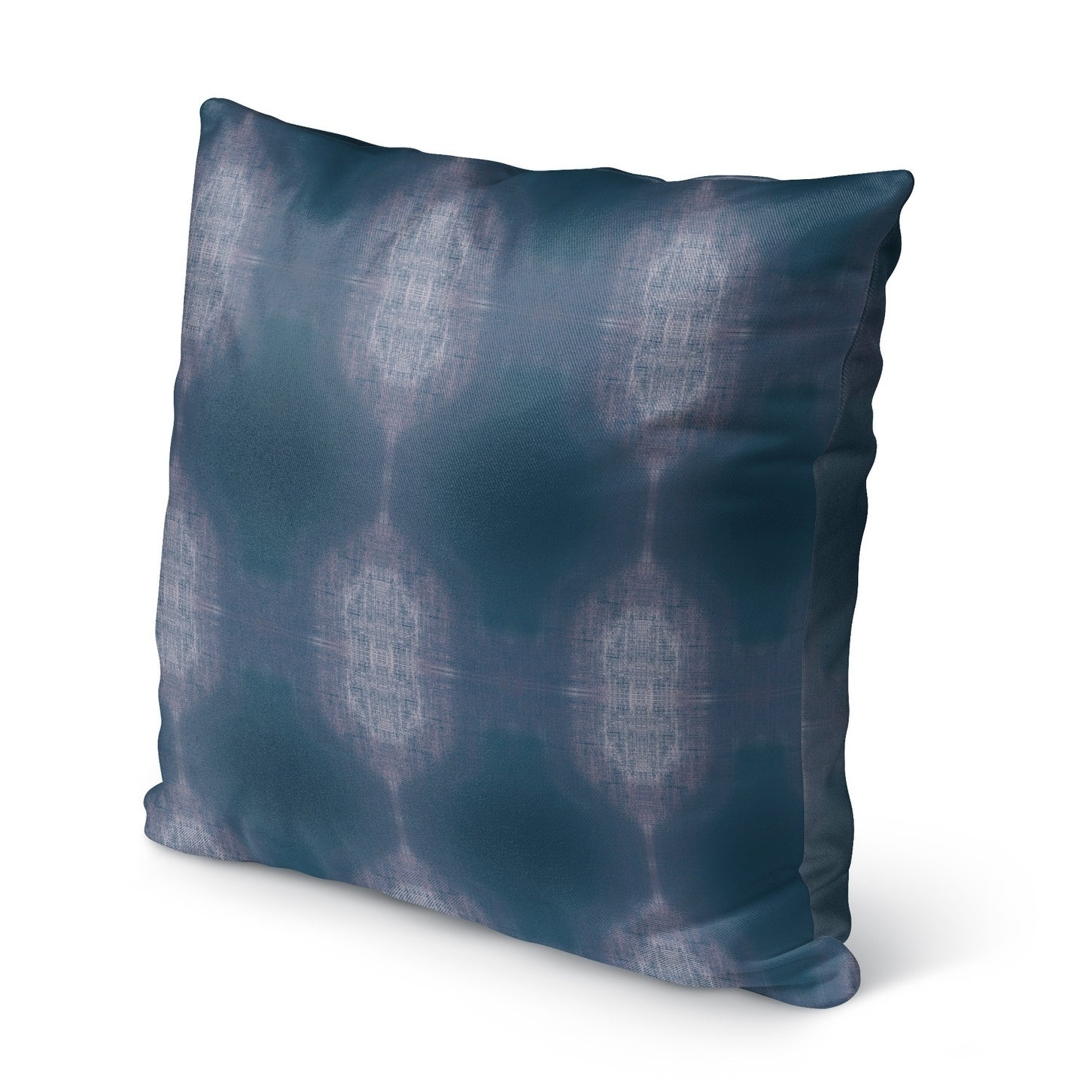Shop Kavka Designs Blue Purple Tie Dye Outdoor Pillow With Insert